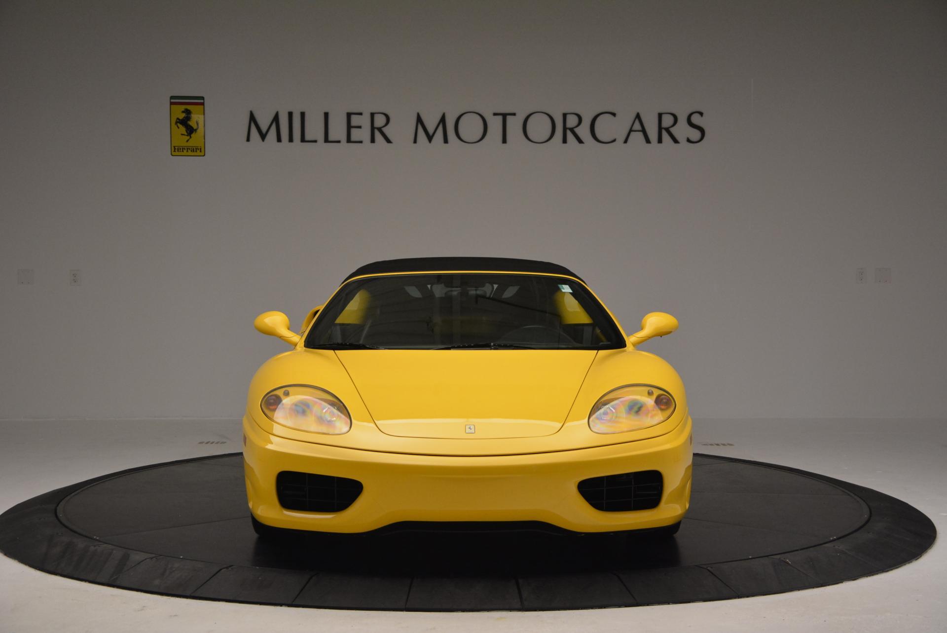Used 2003 Ferrari 360 Spider 6-Speed Manual  For Sale In Greenwich, CT. Alfa Romeo of Greenwich, 4239A 127_p24