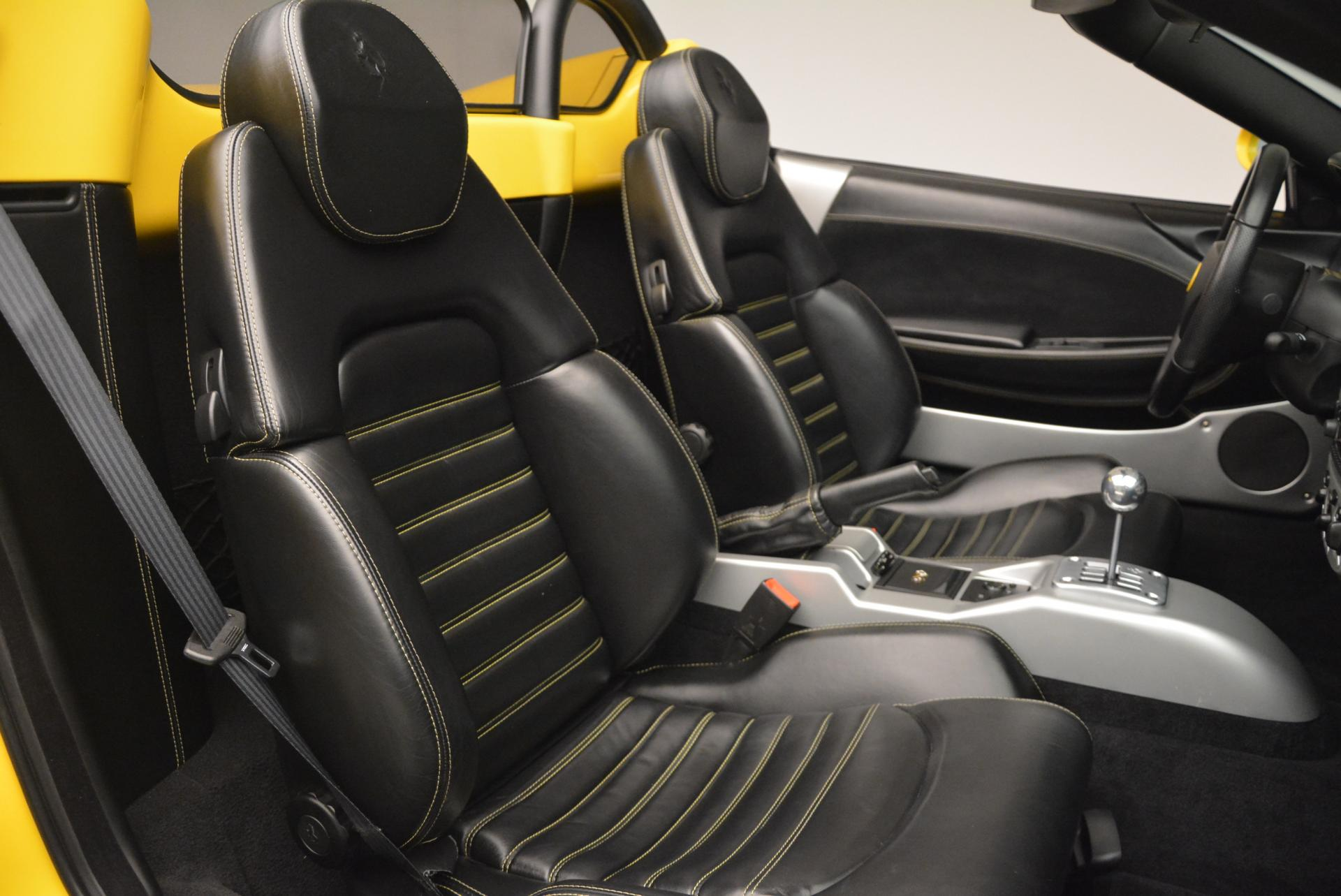 Used 2003 Ferrari 360 Spider 6-Speed Manual  For Sale In Greenwich, CT. Alfa Romeo of Greenwich, 4239A 127_p31