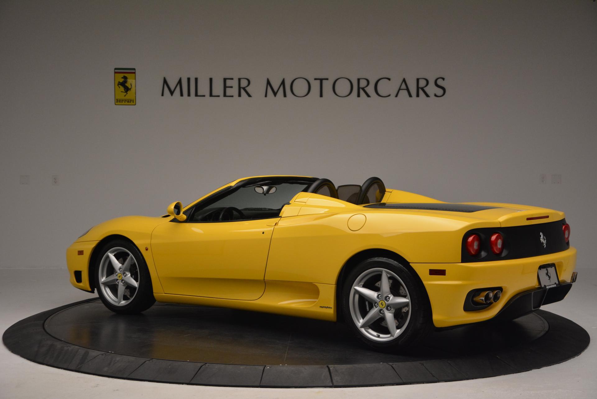 Used 2003 Ferrari 360 Spider 6-Speed Manual  For Sale In Greenwich, CT. Alfa Romeo of Greenwich, 4239A 127_p4