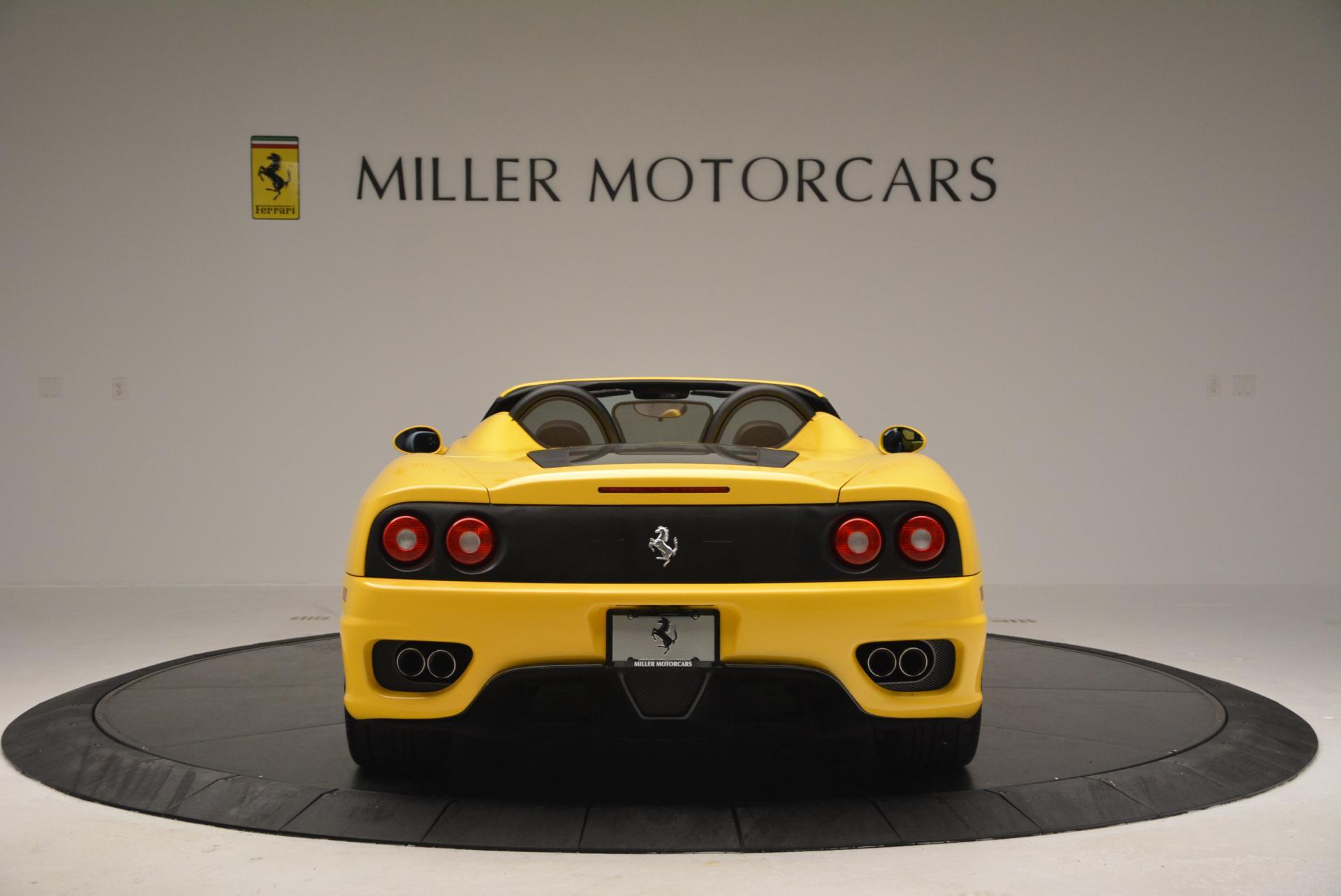 Used 2003 Ferrari 360 Spider 6-Speed Manual  For Sale In Greenwich, CT. Alfa Romeo of Greenwich, 4239A 127_p6