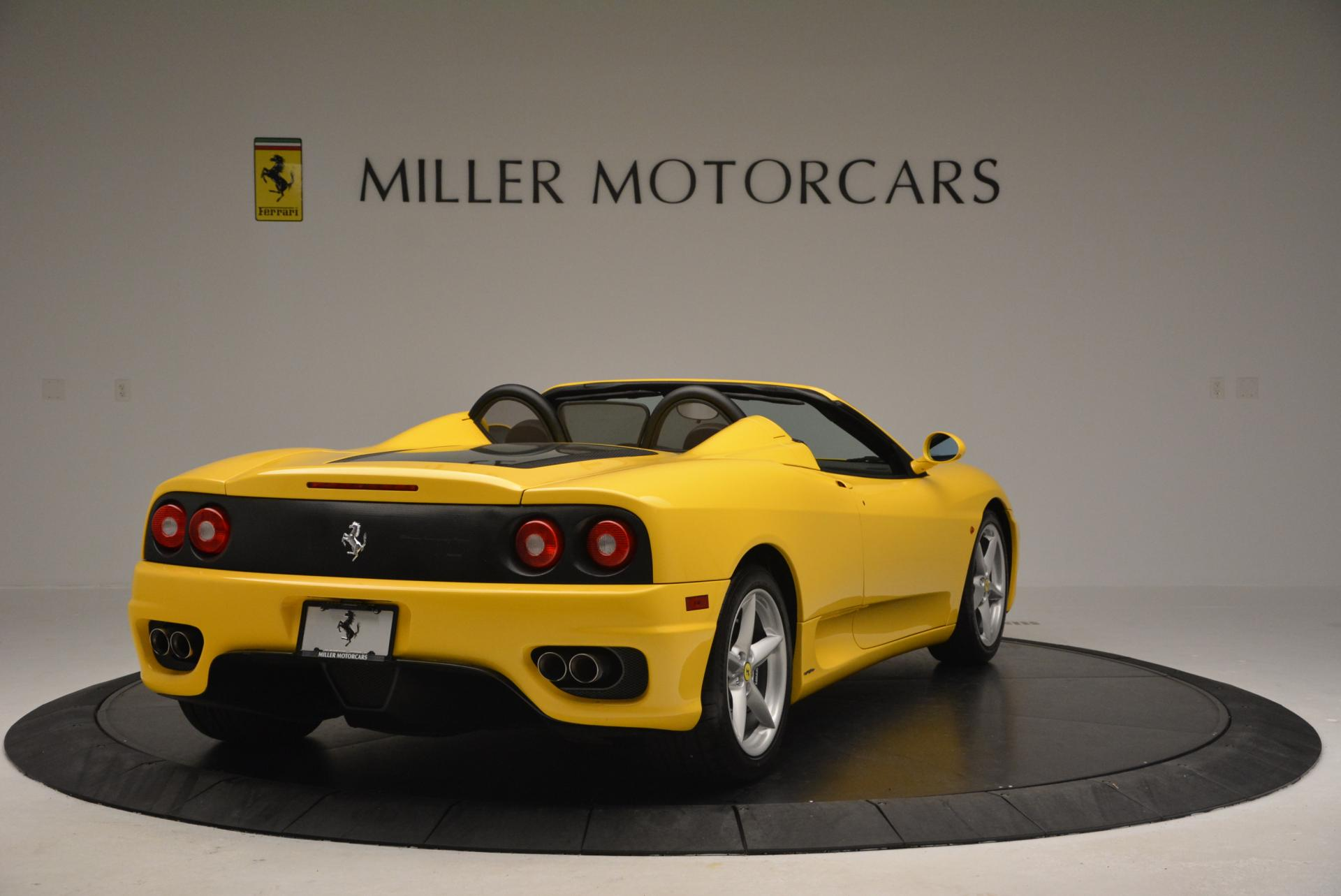 Used 2003 Ferrari 360 Spider 6-Speed Manual  For Sale In Greenwich, CT. Alfa Romeo of Greenwich, 4239A 127_p7