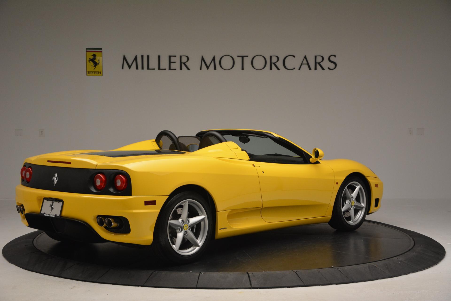 Used 2003 Ferrari 360 Spider 6-Speed Manual  For Sale In Greenwich, CT. Alfa Romeo of Greenwich, 4239A 127_p8