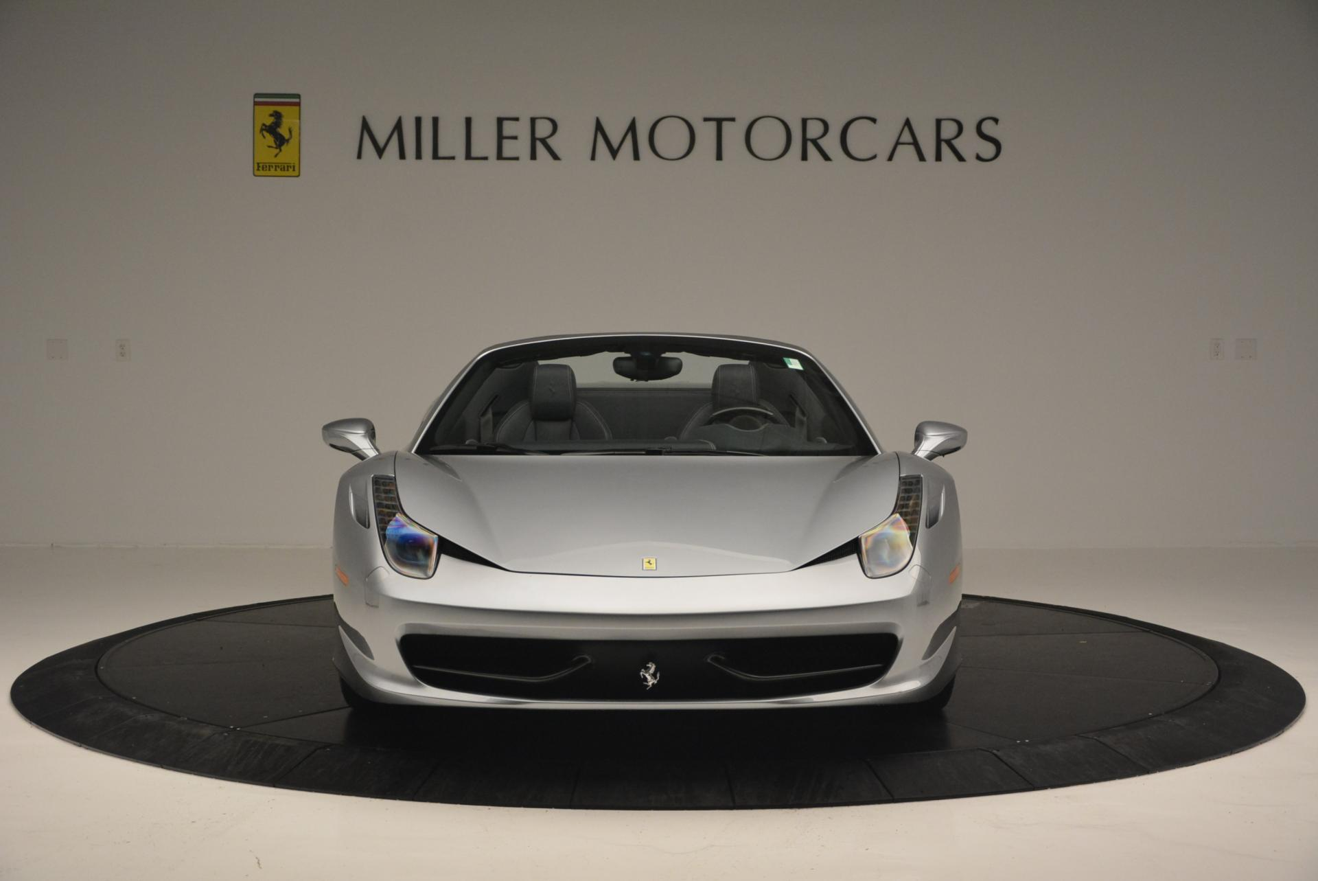 Used 2013 Ferrari 458 Spider  For Sale In Greenwich, CT. Alfa Romeo of Greenwich, 4566 128_p12