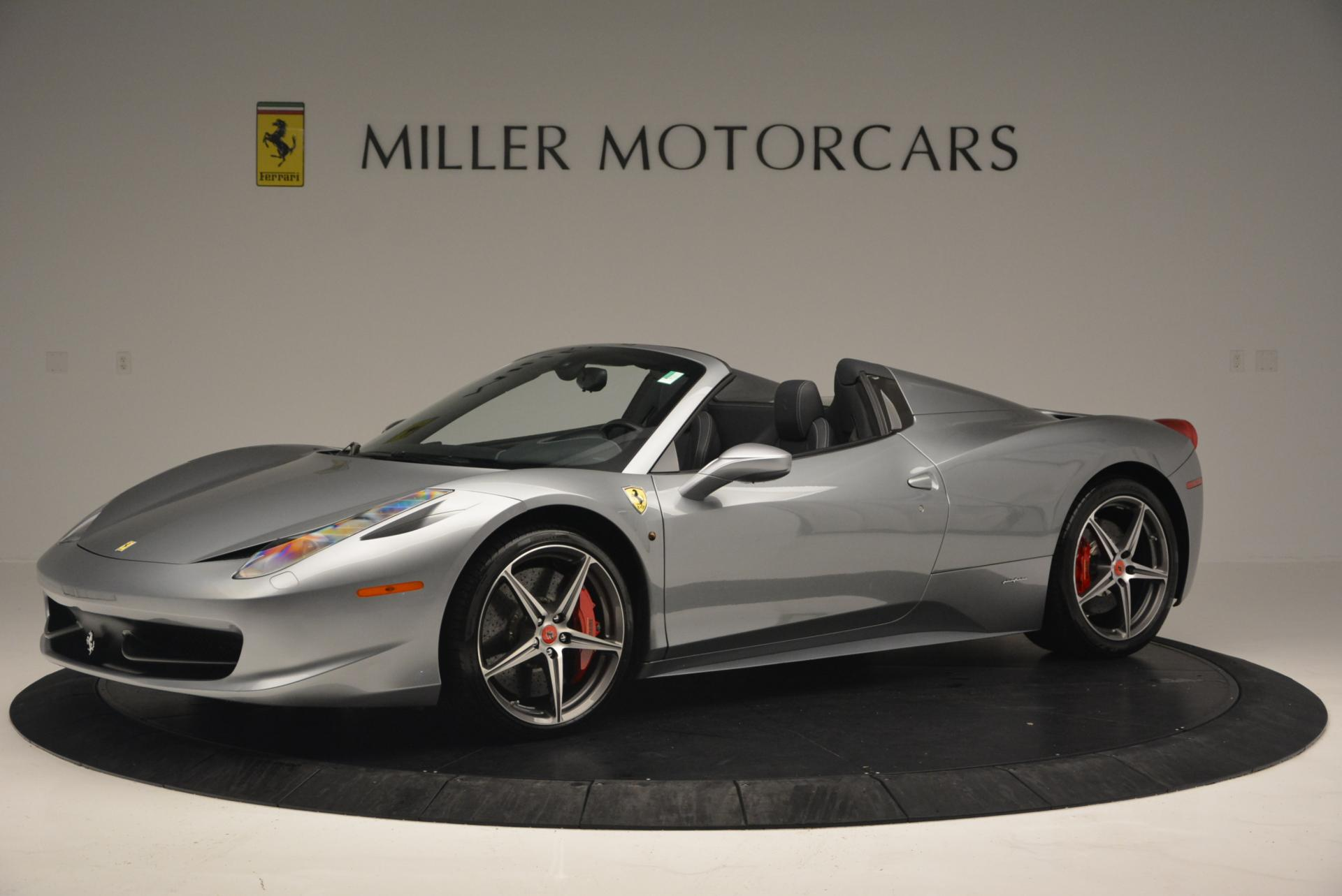 Used 2013 Ferrari 458 Spider  For Sale In Greenwich, CT. Alfa Romeo of Greenwich, 4566 128_p2