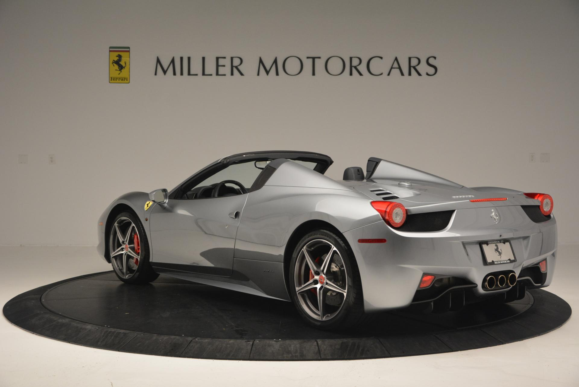 Used 2013 Ferrari 458 Spider  For Sale In Greenwich, CT. Alfa Romeo of Greenwich, 4566 128_p5