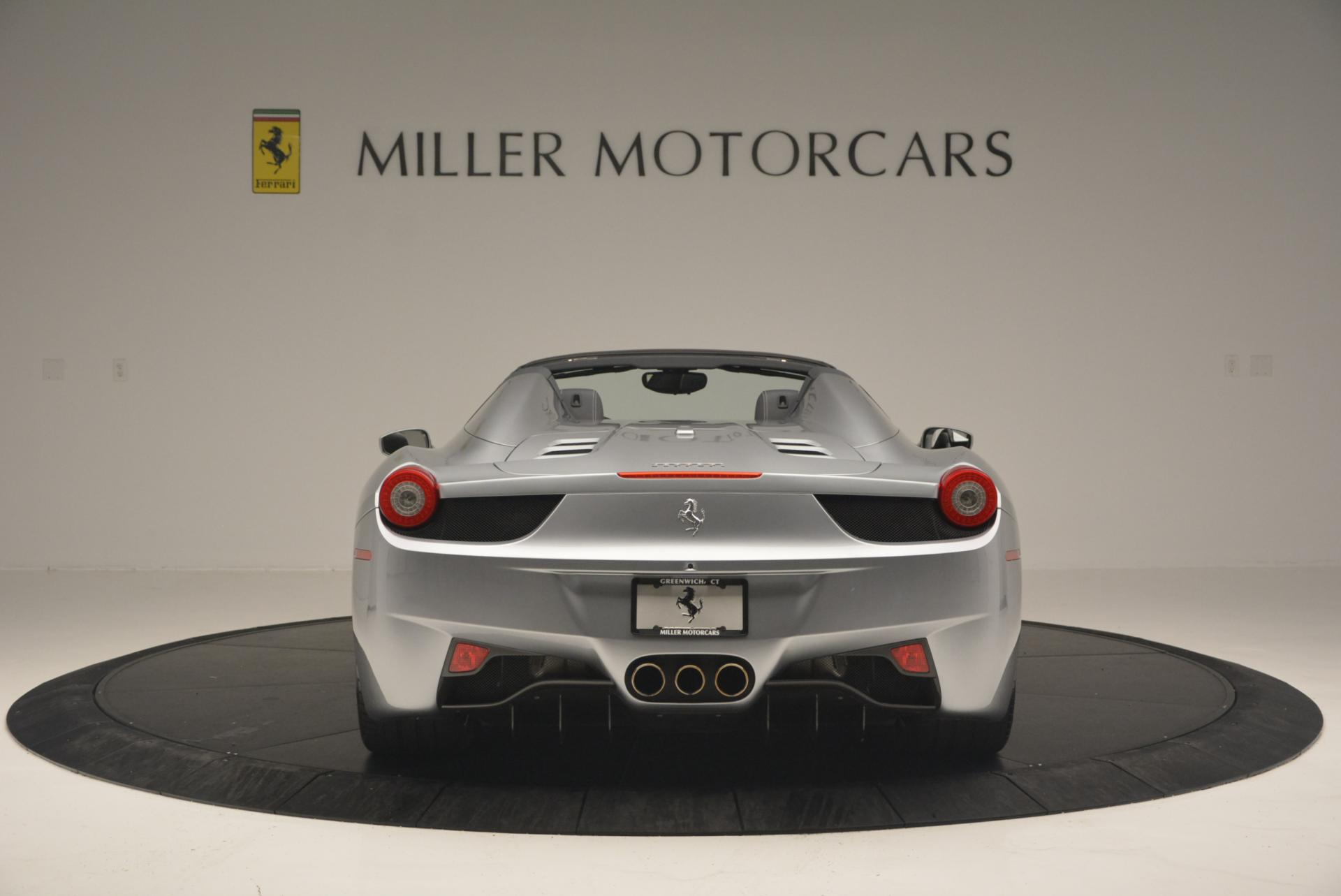 Used 2013 Ferrari 458 Spider  For Sale In Greenwich, CT. Alfa Romeo of Greenwich, 4566 128_p6