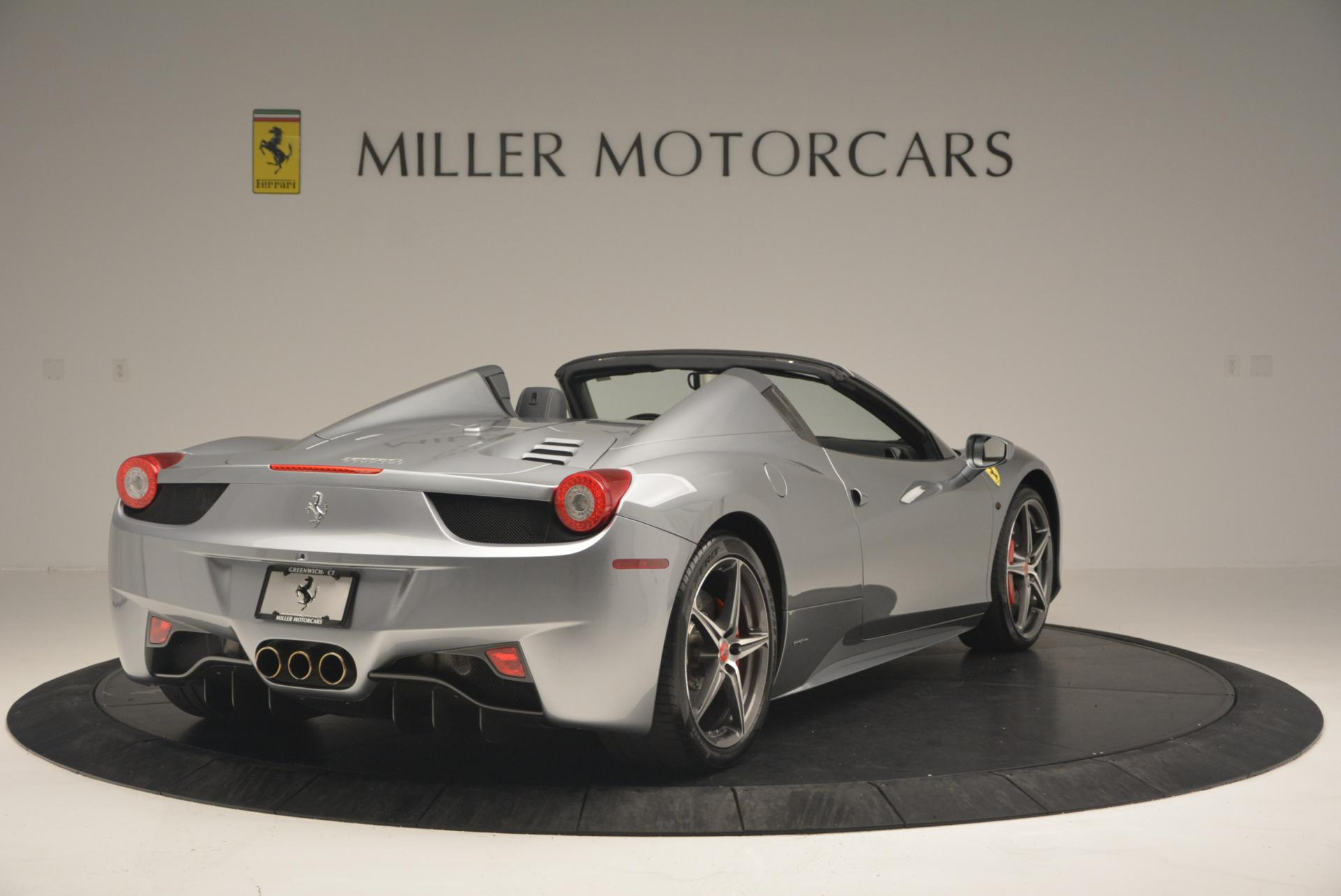 Used 2013 Ferrari 458 Spider  For Sale In Greenwich, CT. Alfa Romeo of Greenwich, 4566 128_p7