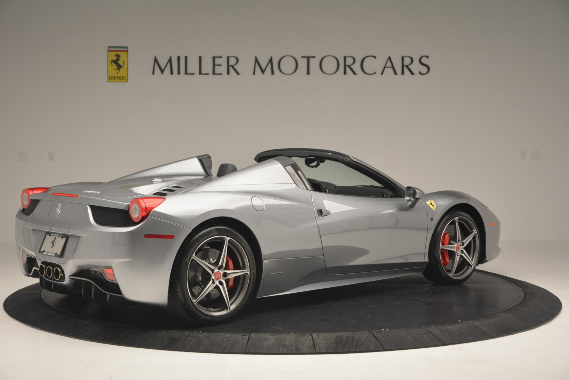 Used 2013 Ferrari 458 Spider  For Sale In Greenwich, CT. Alfa Romeo of Greenwich, 4566 128_p8