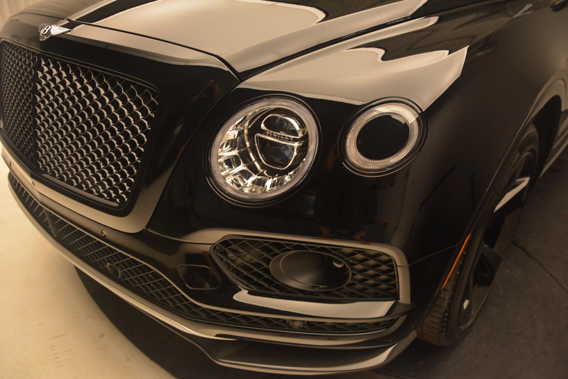 New 2018 Bentley Bentayga Black Edition For Sale In Greenwich, CT. Alfa Romeo of Greenwich, B1263 1287_p16