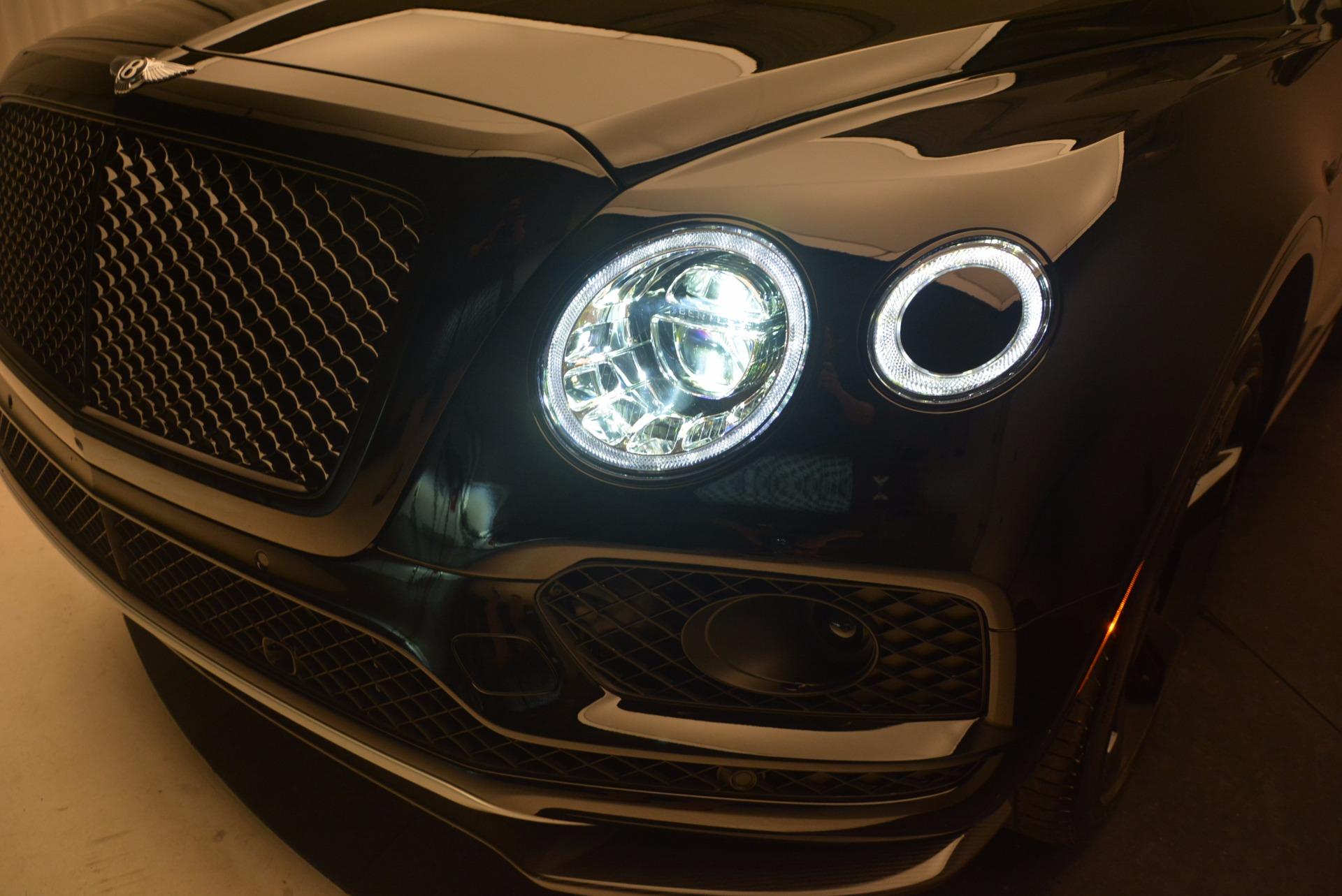 New 2018 Bentley Bentayga Black Edition For Sale In Greenwich, CT. Alfa Romeo of Greenwich, B1263 1287_p17
