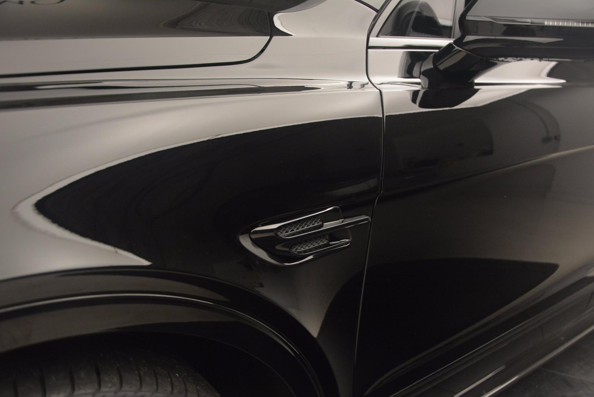New 2018 Bentley Bentayga Black Edition For Sale In Greenwich, CT. Alfa Romeo of Greenwich, B1263 1287_p23