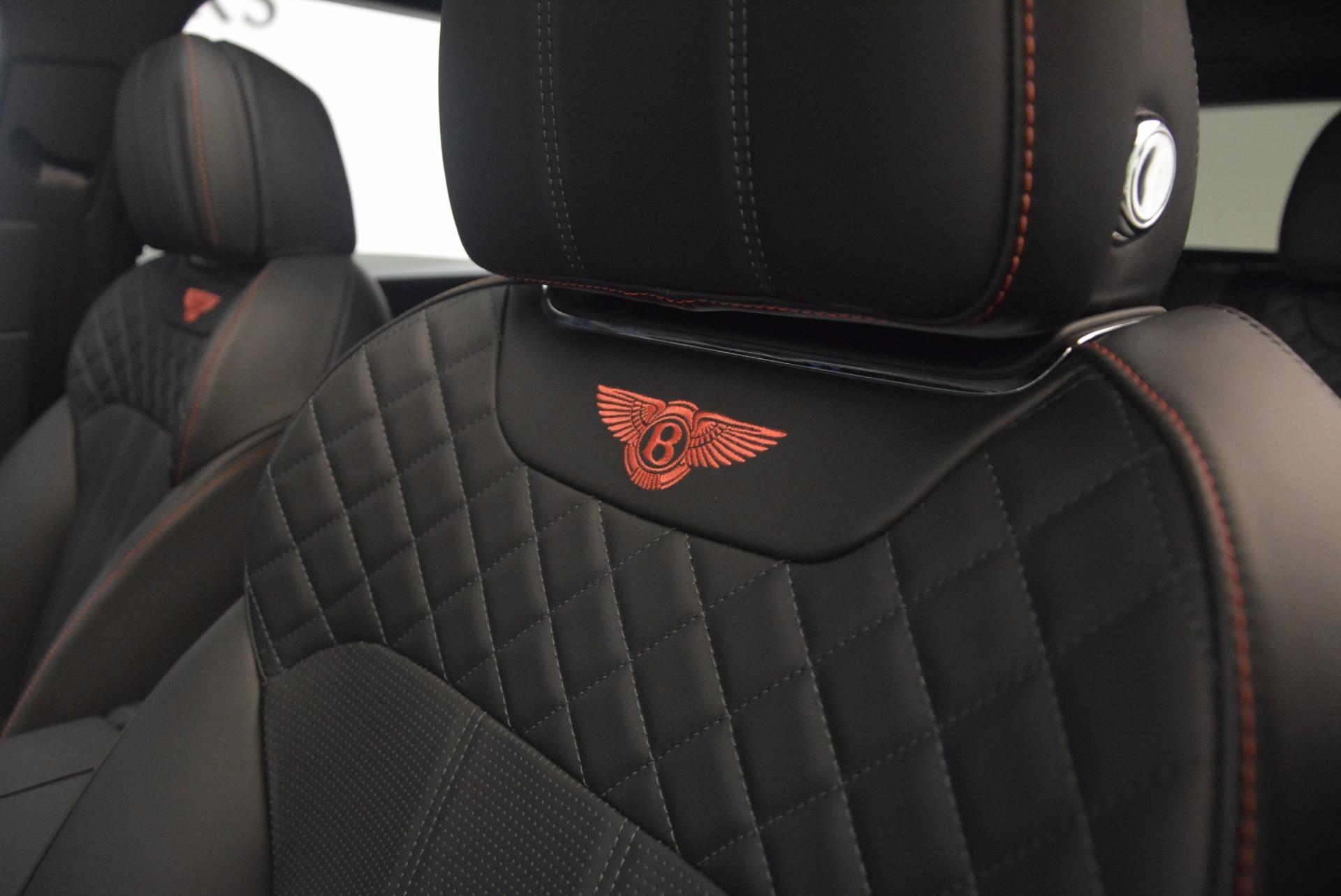 New 2018 Bentley Bentayga Black Edition For Sale In Greenwich, CT. Alfa Romeo of Greenwich, B1263 1287_p35