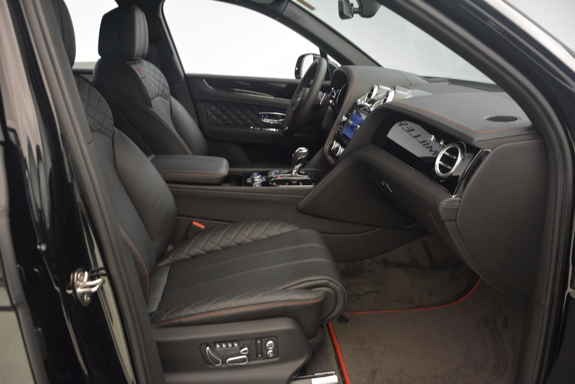 New 2018 Bentley Bentayga Black Edition For Sale In Greenwich, CT. Alfa Romeo of Greenwich, B1263 1287_p45