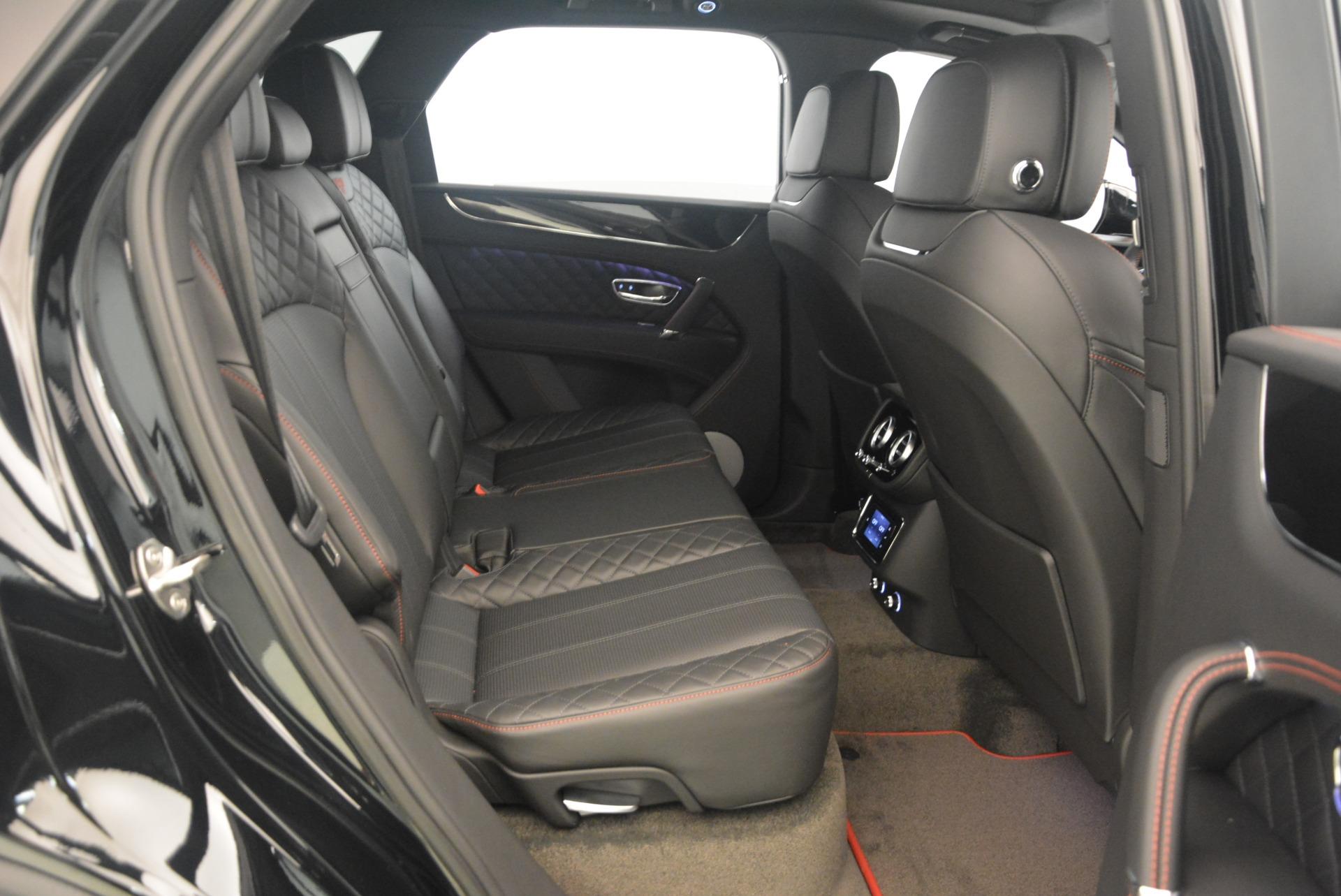 New 2018 Bentley Bentayga Black Edition For Sale In Greenwich, CT. Alfa Romeo of Greenwich, B1263 1287_p48