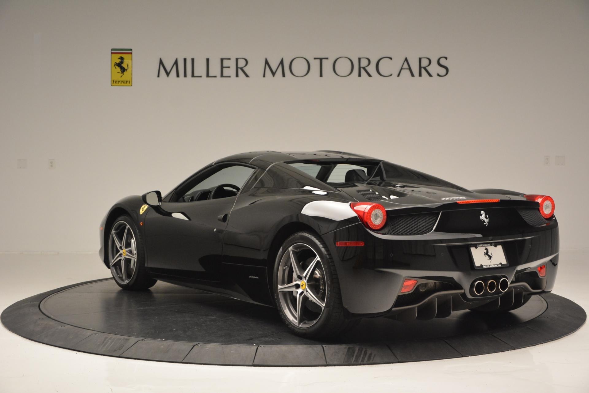 Used 2012 Ferrari 458 Spider  For Sale In Greenwich, CT. Alfa Romeo of Greenwich, 4529C 130_p17