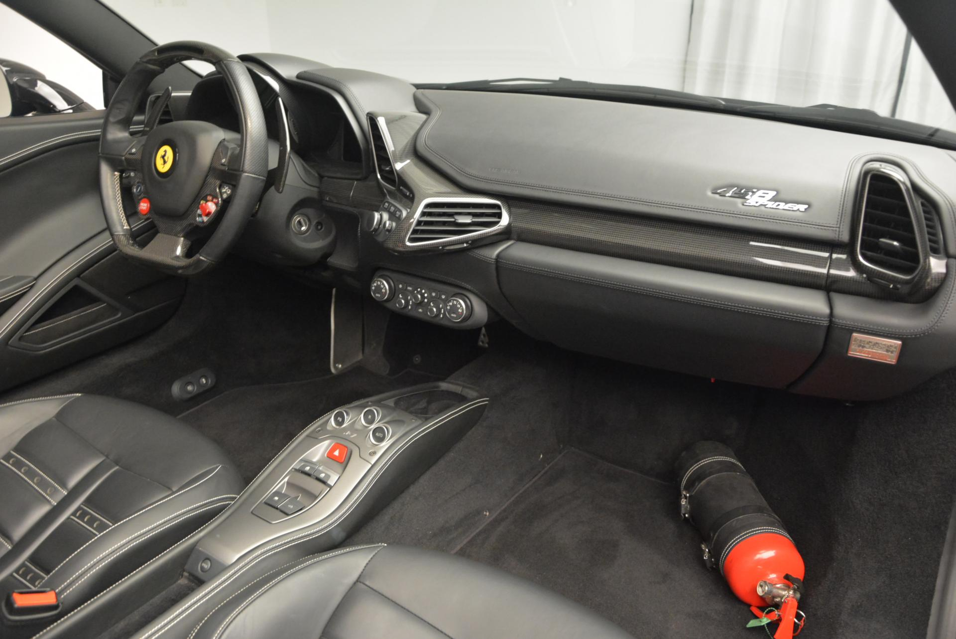 Used 2012 Ferrari 458 Spider  For Sale In Greenwich, CT. Alfa Romeo of Greenwich, 4529C 130_p29