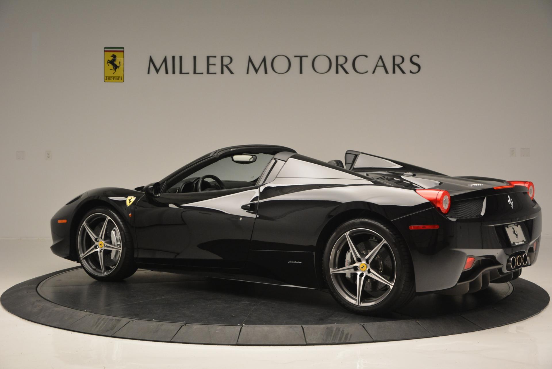 Used 2012 Ferrari 458 Spider  For Sale In Greenwich, CT. Alfa Romeo of Greenwich, 4529C 130_p4