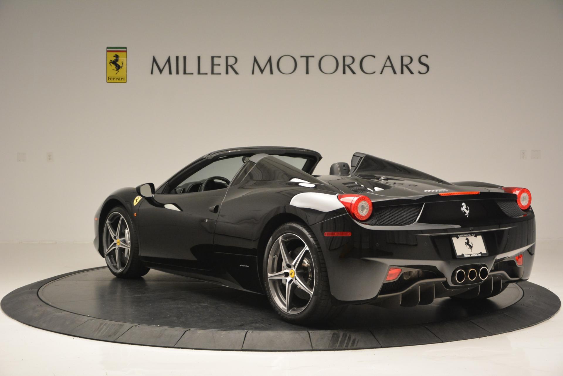 Used 2012 Ferrari 458 Spider  For Sale In Greenwich, CT. Alfa Romeo of Greenwich, 4529C 130_p5