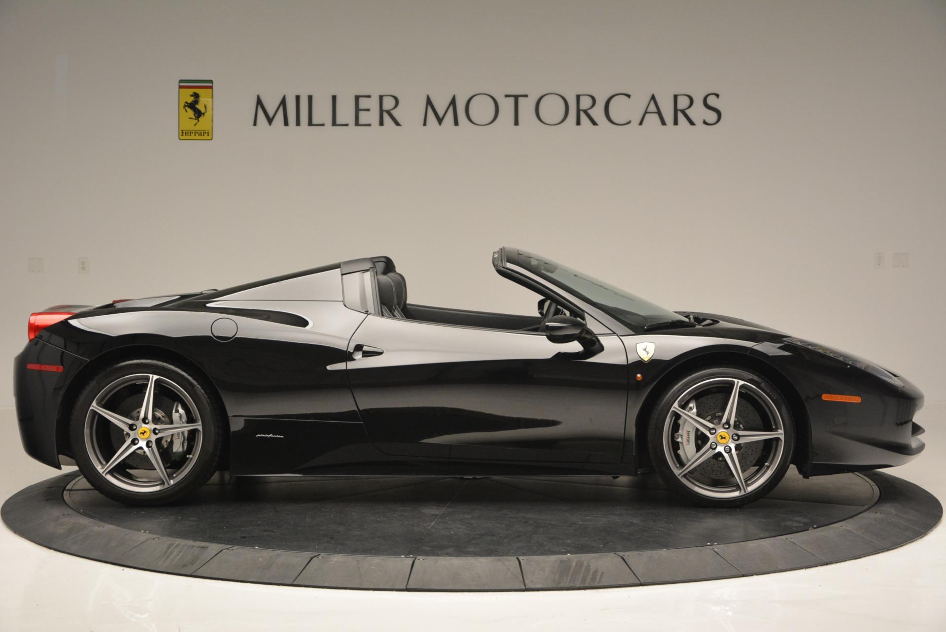 Used 2012 Ferrari 458 Spider  For Sale In Greenwich, CT. Alfa Romeo of Greenwich, 4529C 130_p9