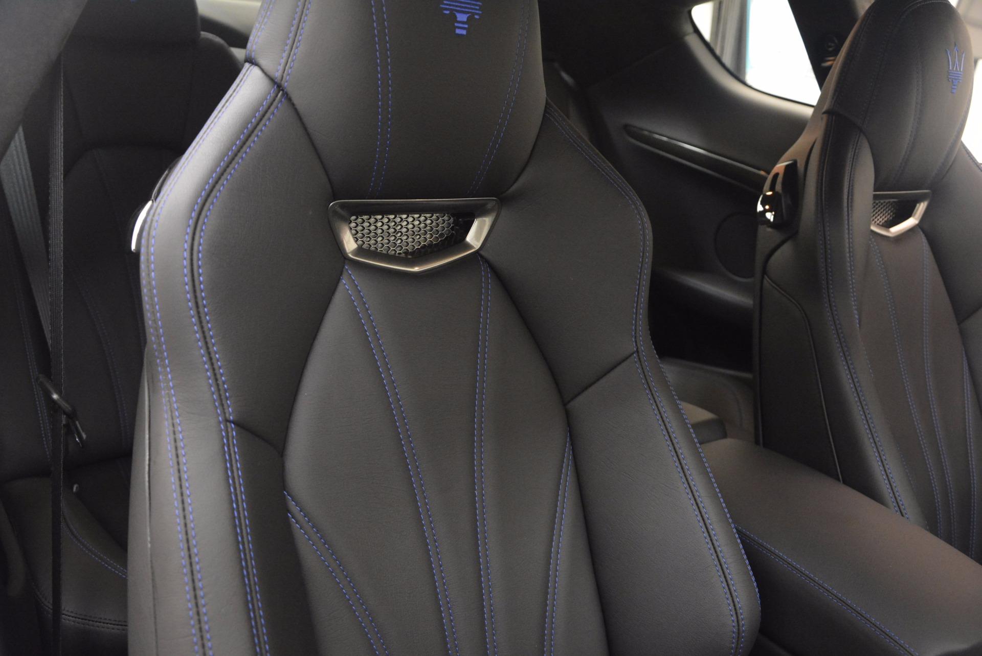 New 2017 Maserati GranTurismo Sport Coupe Special Edition For Sale In Greenwich, CT. Alfa Romeo of Greenwich, M1884 1300_p25
