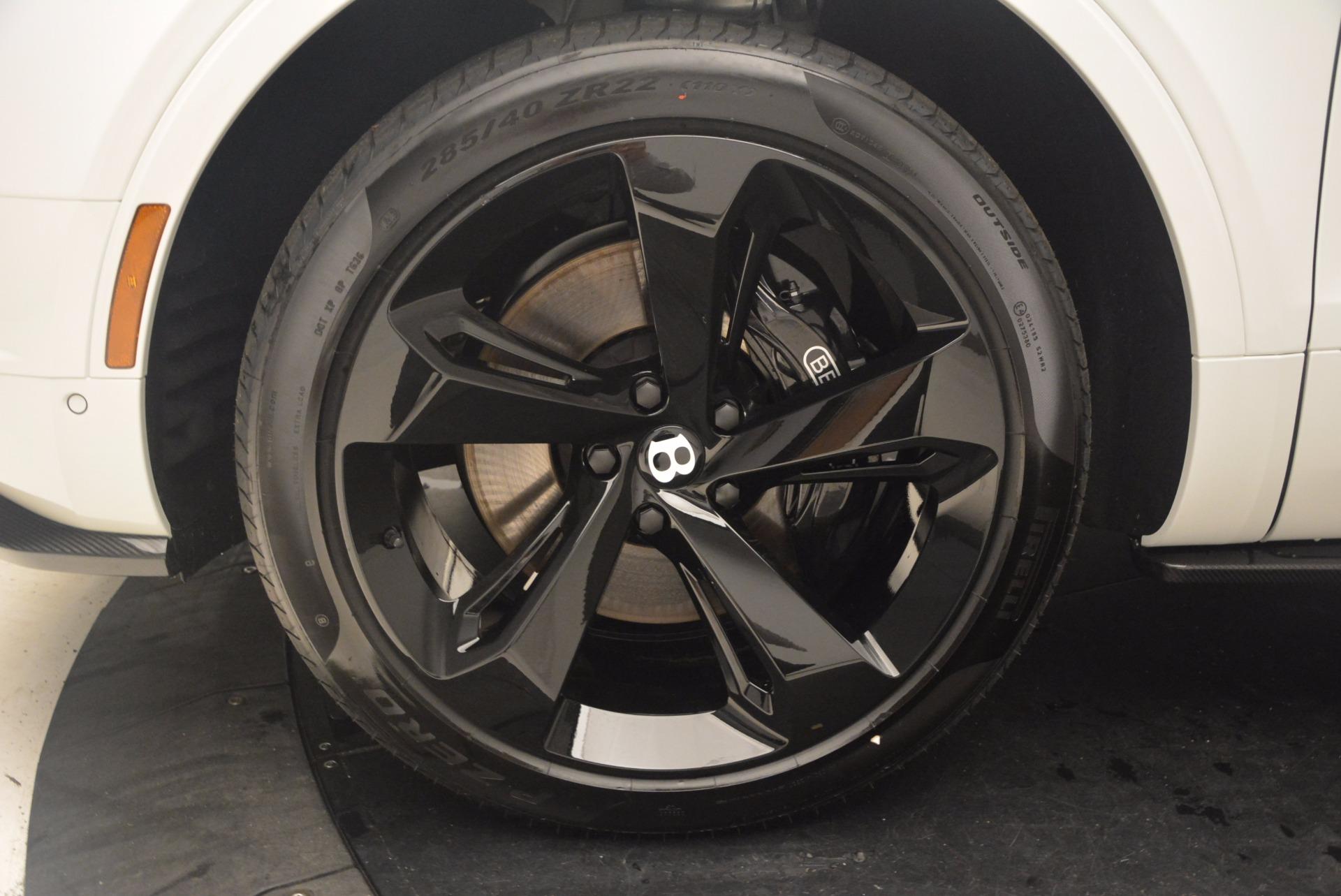 New 2018 Bentley Bentayga Black Edition For Sale In Greenwich, CT. Alfa Romeo of Greenwich, B1270 1302_p24