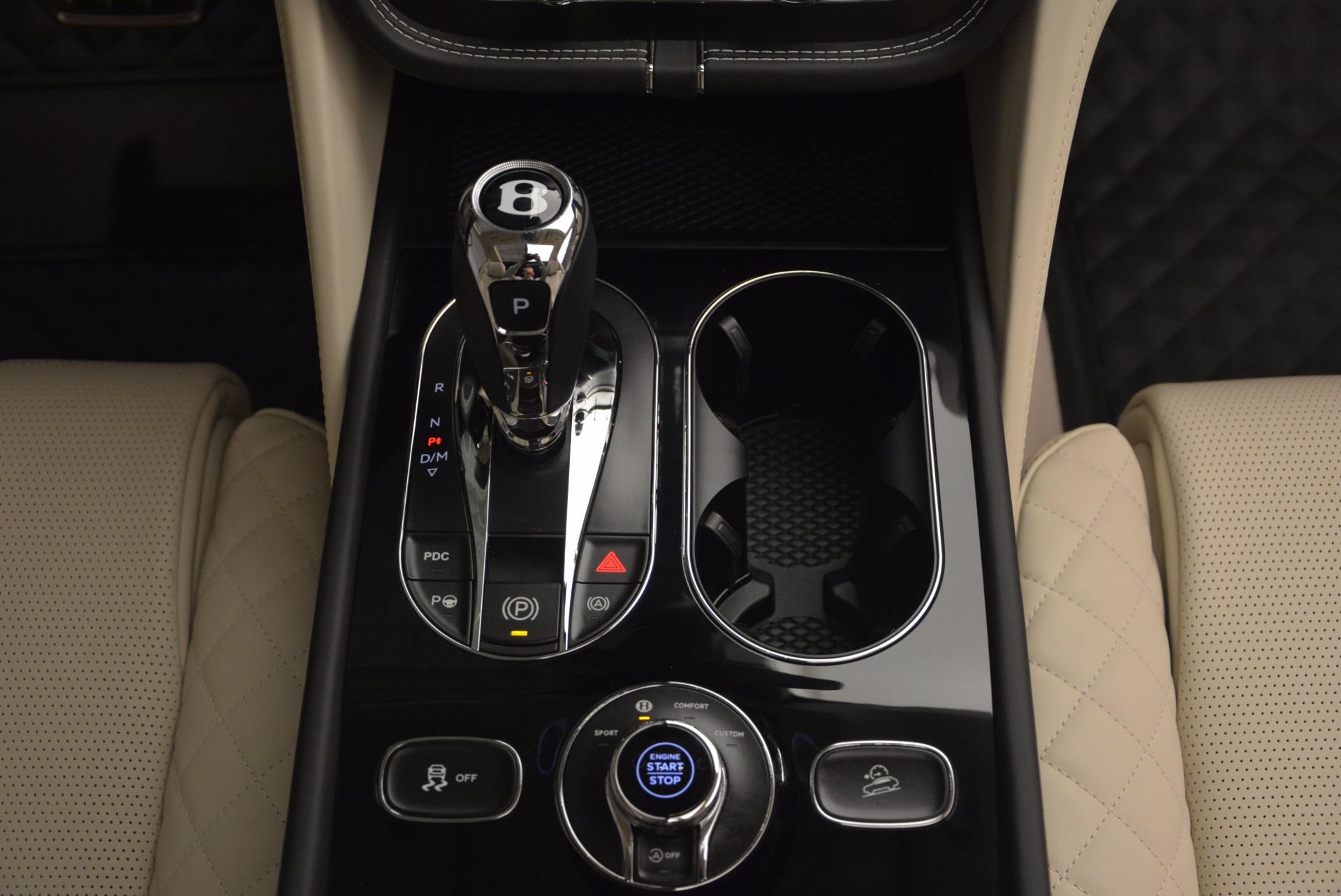New 2018 Bentley Bentayga Black Edition For Sale In Greenwich, CT. Alfa Romeo of Greenwich, B1270 1302_p56
