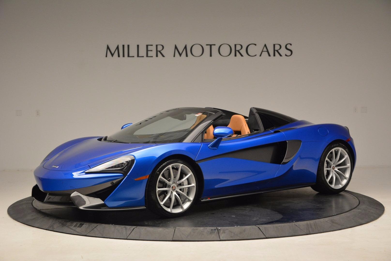 Used 2018 McLaren 570S Spider For Sale In Greenwich, CT. Alfa Romeo of Greenwich, MC316 1303_main