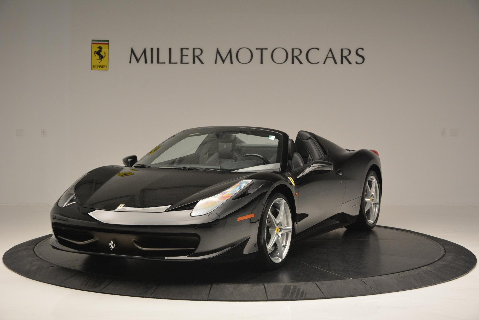 Used 2013 Ferrari 458 Spider  For Sale In Greenwich, CT. Alfa Romeo of Greenwich, 4309