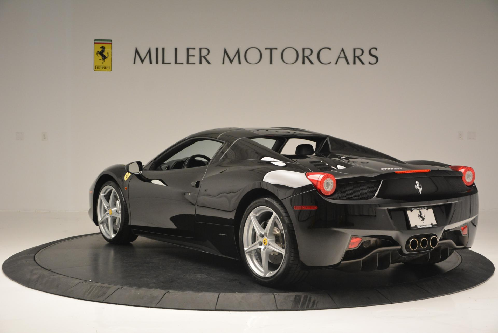 Used 2013 Ferrari 458 Spider  For Sale In Greenwich, CT. Alfa Romeo of Greenwich, 4309 132_p17