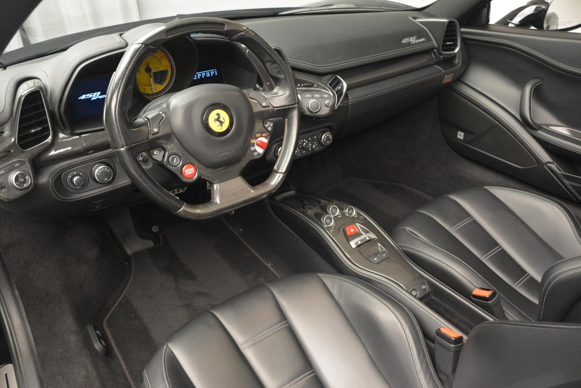 Used 2013 Ferrari 458 Spider  For Sale In Greenwich, CT. Alfa Romeo of Greenwich, 4309 132_p25