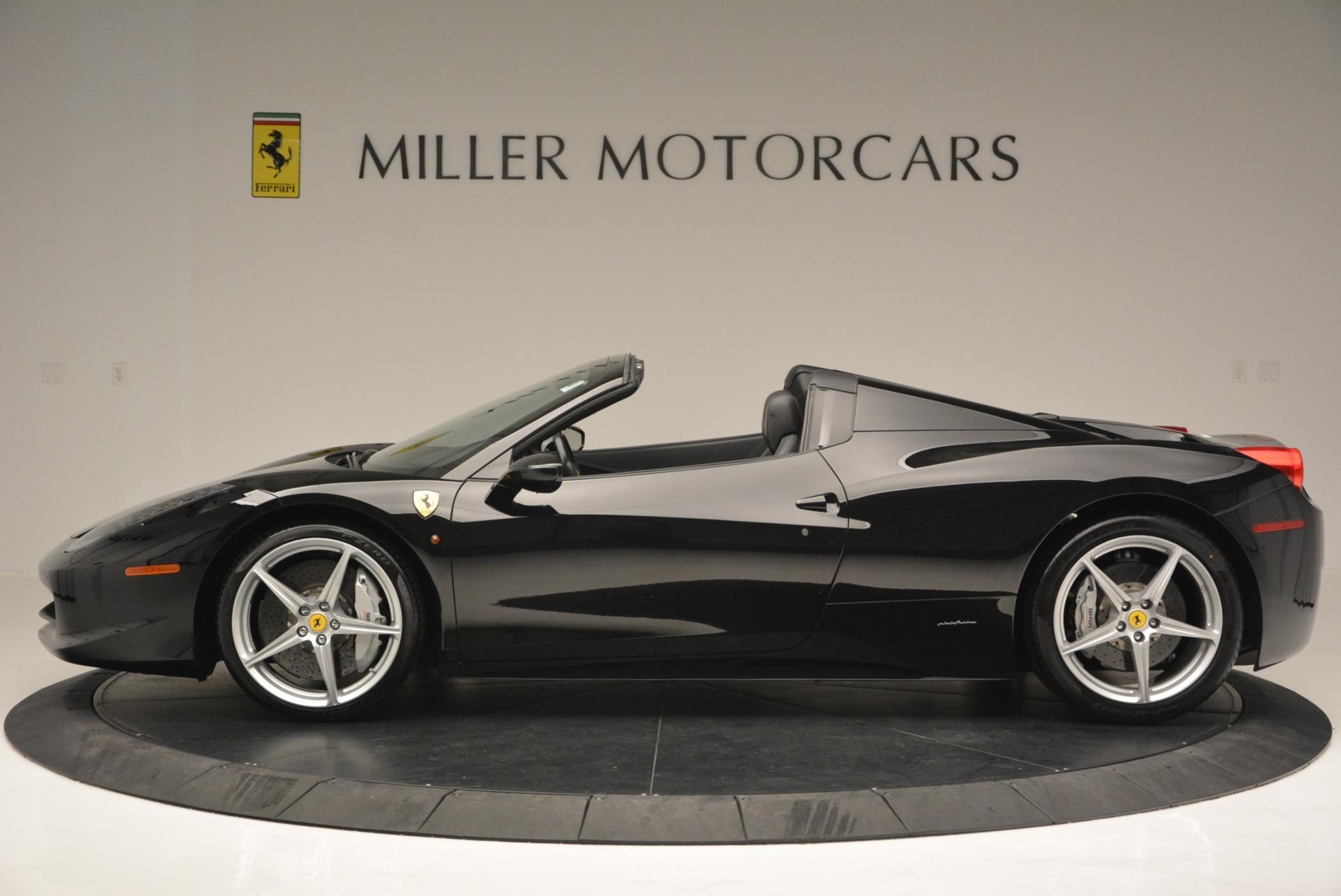 Used 2013 Ferrari 458 Spider  For Sale In Greenwich, CT. Alfa Romeo of Greenwich, 4309 132_p3