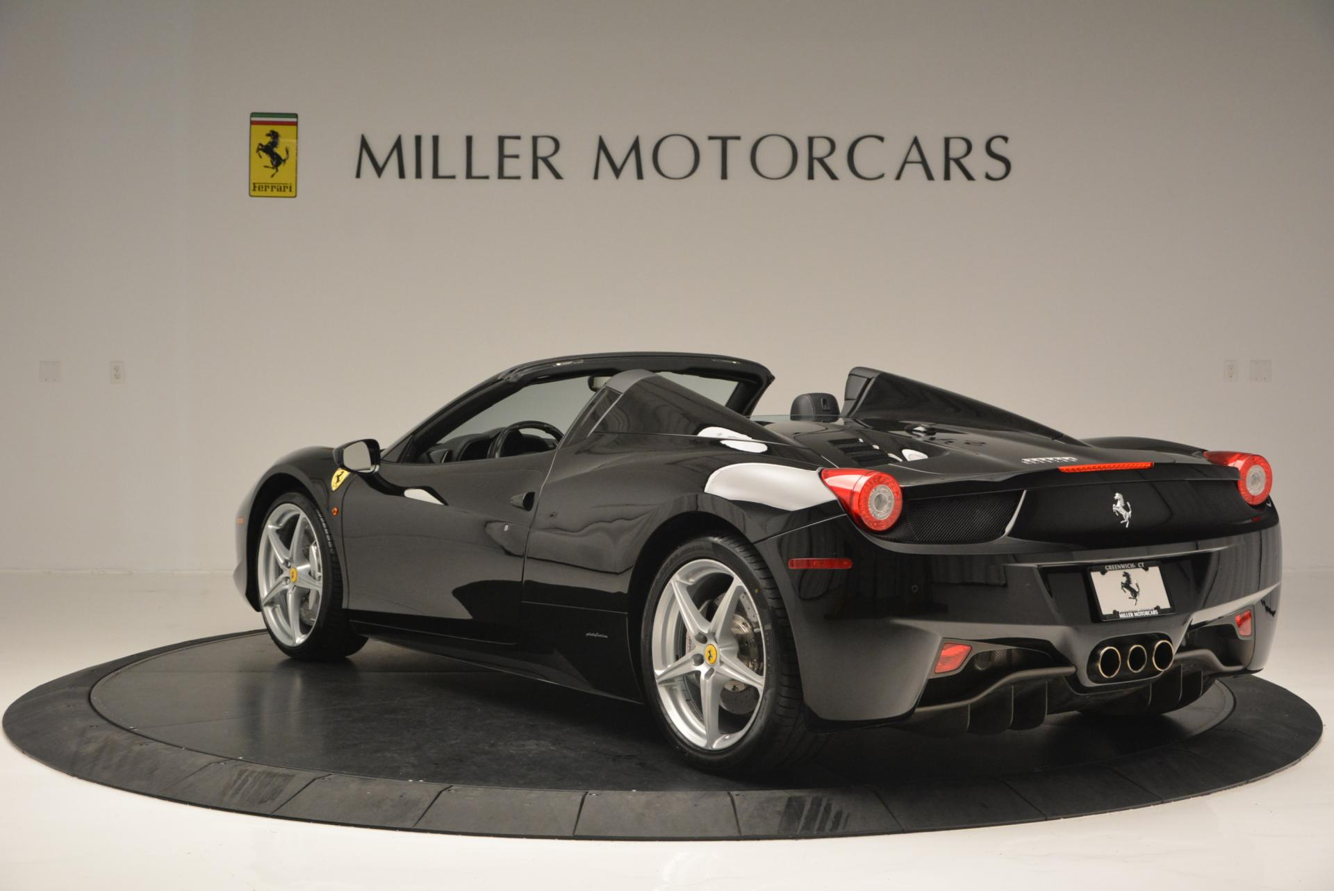 Used 2013 Ferrari 458 Spider  For Sale In Greenwich, CT. Alfa Romeo of Greenwich, 4309 132_p5