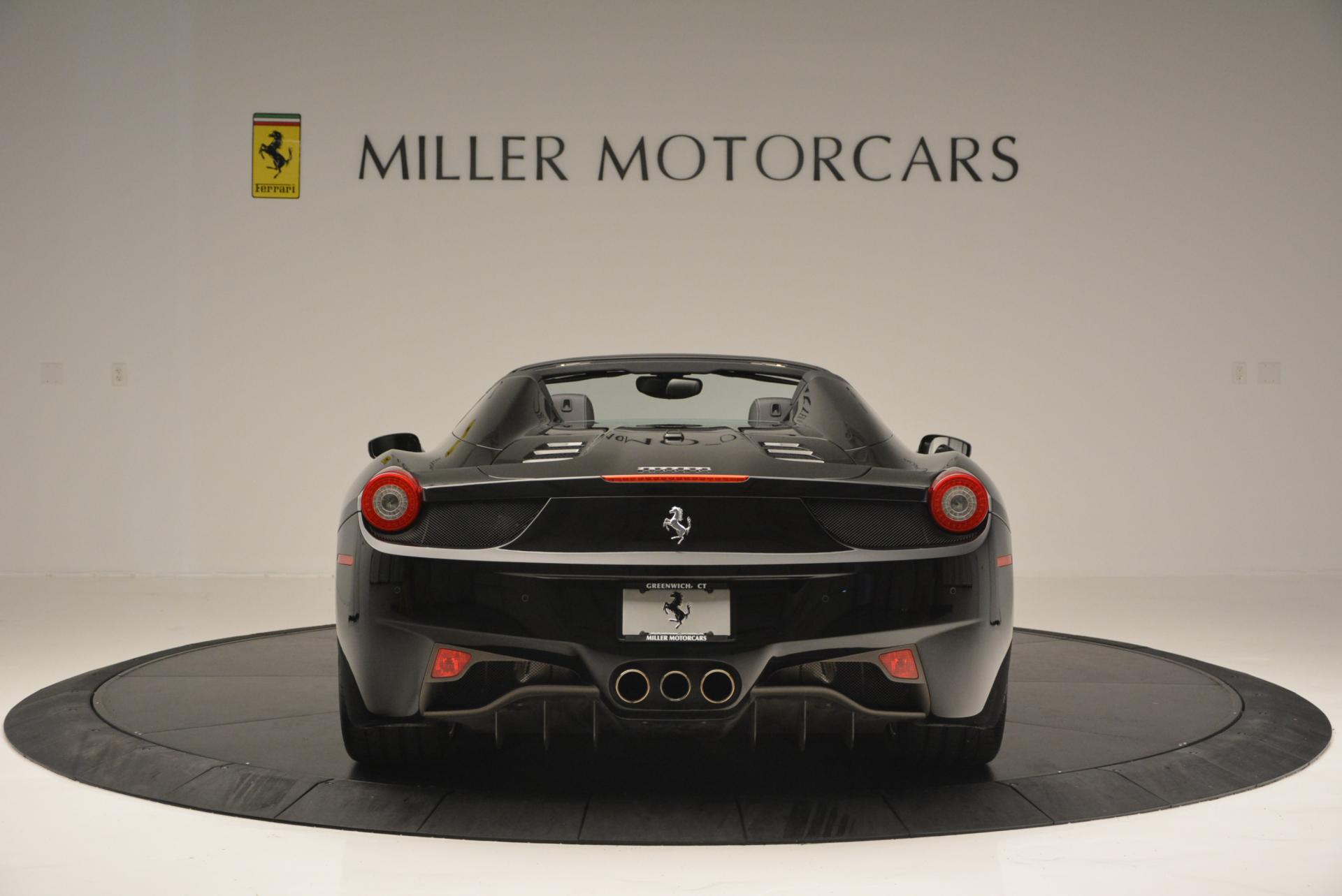 Used 2013 Ferrari 458 Spider  For Sale In Greenwich, CT. Alfa Romeo of Greenwich, 4309 132_p6