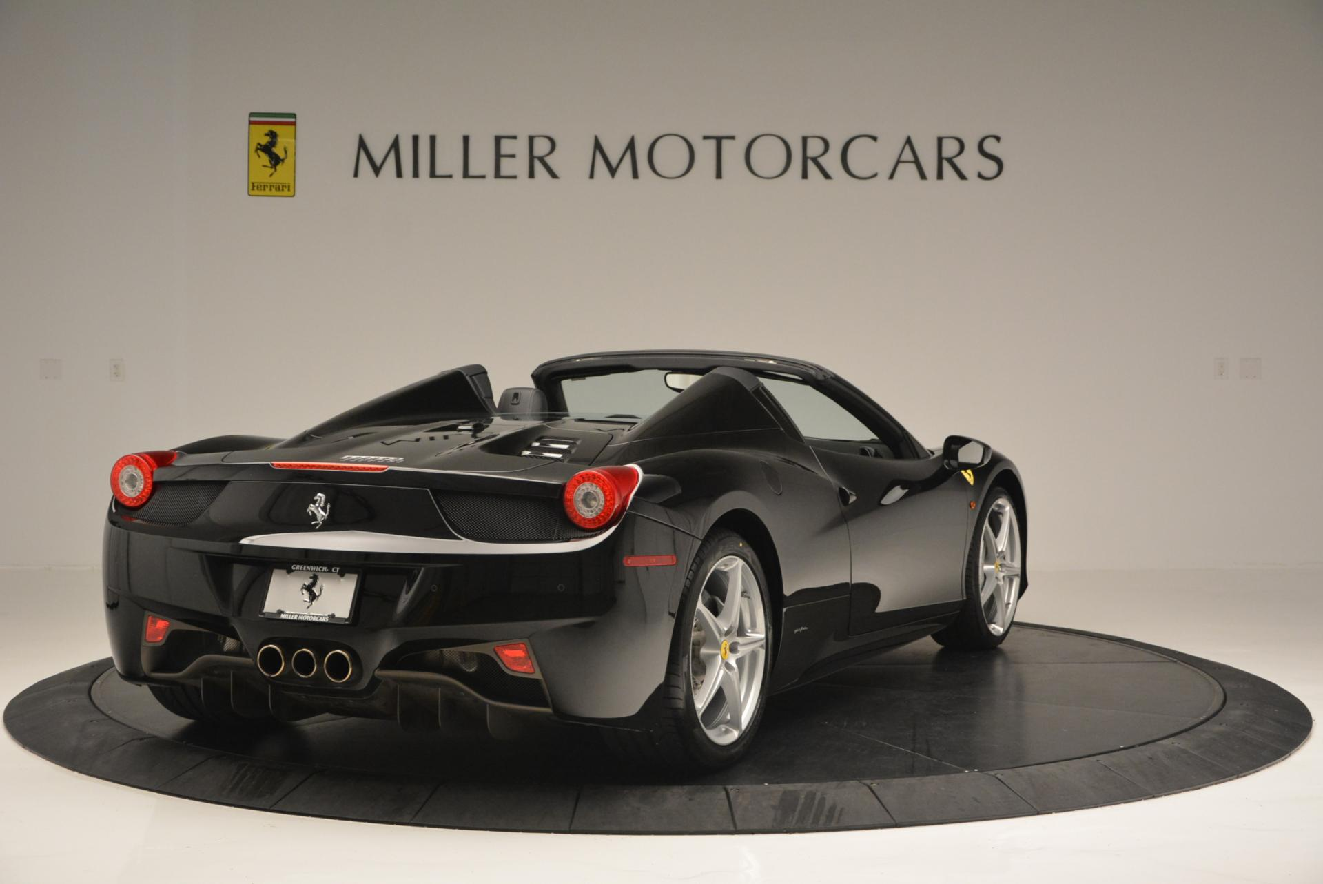 Used 2013 Ferrari 458 Spider  For Sale In Greenwich, CT. Alfa Romeo of Greenwich, 4309 132_p7