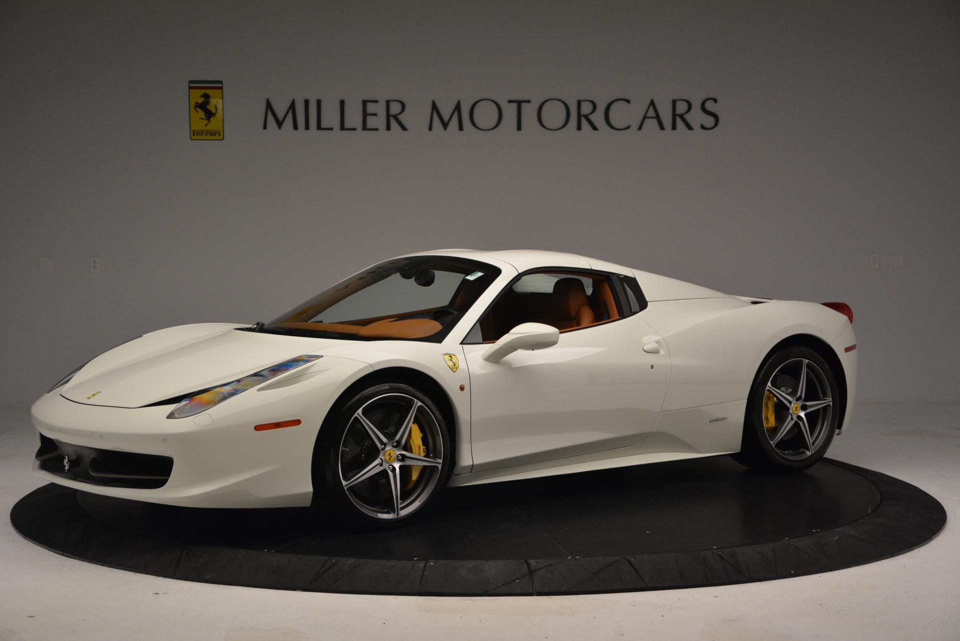 Used 2012 Ferrari 458 Spider  For Sale In Greenwich, CT. Alfa Romeo of Greenwich, F1724A 133_p14