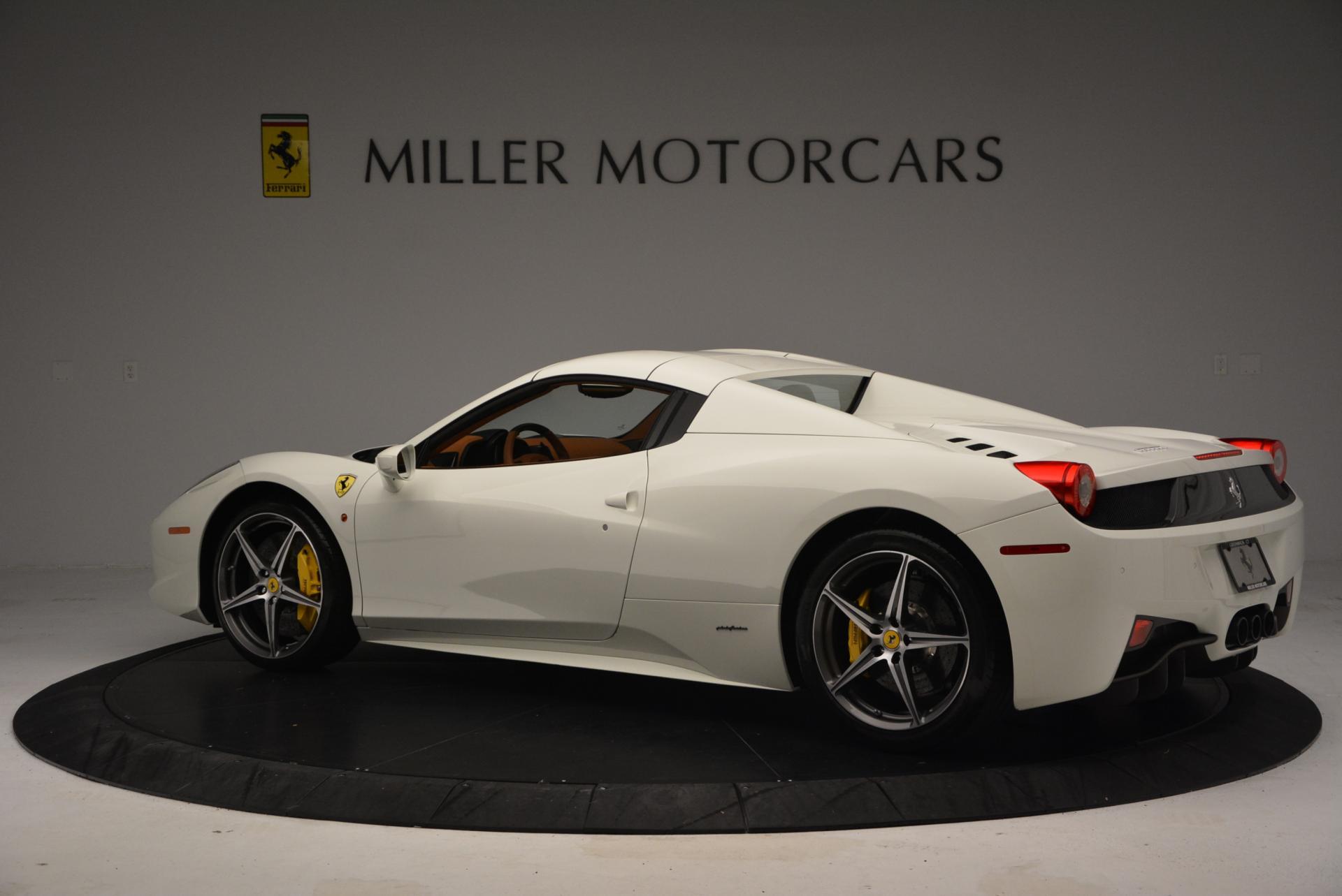 Used 2012 Ferrari 458 Spider  For Sale In Greenwich, CT. Alfa Romeo of Greenwich, F1724A 133_p16