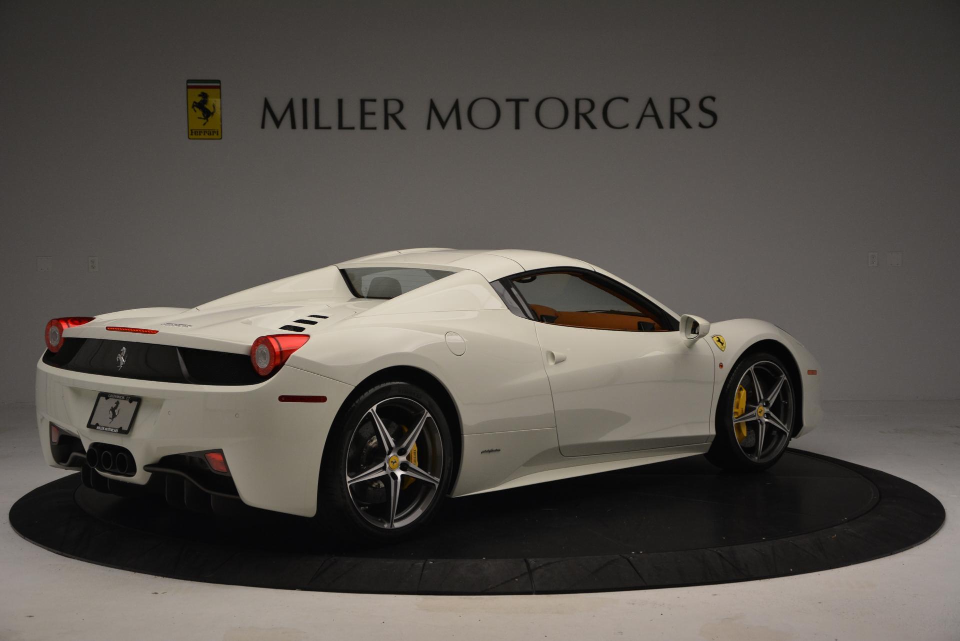 Used 2012 Ferrari 458 Spider  For Sale In Greenwich, CT. Alfa Romeo of Greenwich, F1724A 133_p20