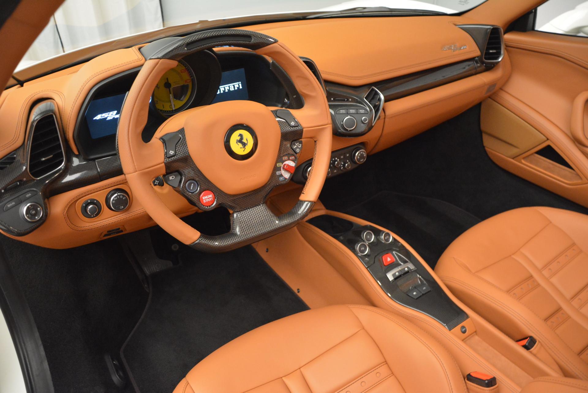 Used 2012 Ferrari 458 Spider  For Sale In Greenwich, CT. Alfa Romeo of Greenwich, F1724A 133_p25