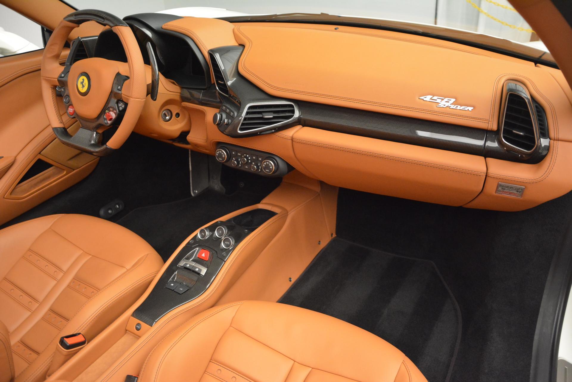 Used 2012 Ferrari 458 Spider  For Sale In Greenwich, CT. Alfa Romeo of Greenwich, F1724A 133_p29
