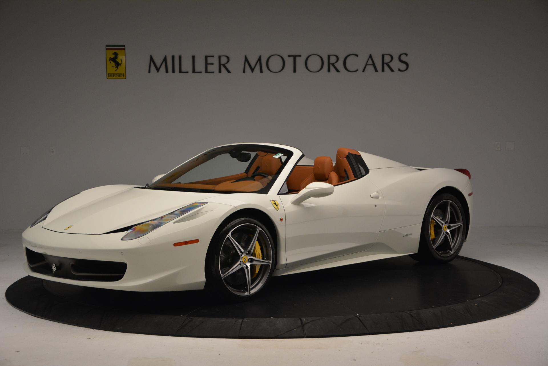Used 2012 Ferrari 458 Spider  For Sale In Greenwich, CT. Alfa Romeo of Greenwich, F1724A 133_p2