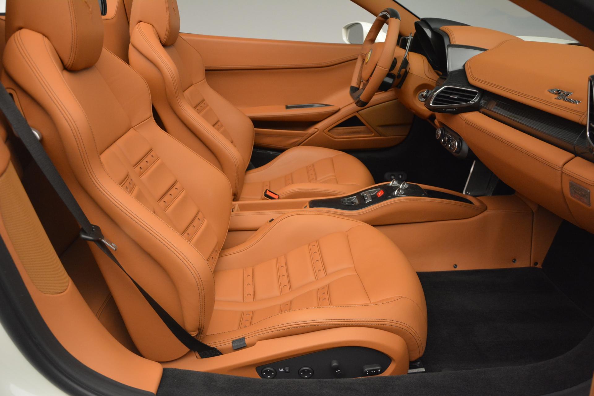 Used 2012 Ferrari 458 Spider  For Sale In Greenwich, CT. Alfa Romeo of Greenwich, F1724A 133_p30