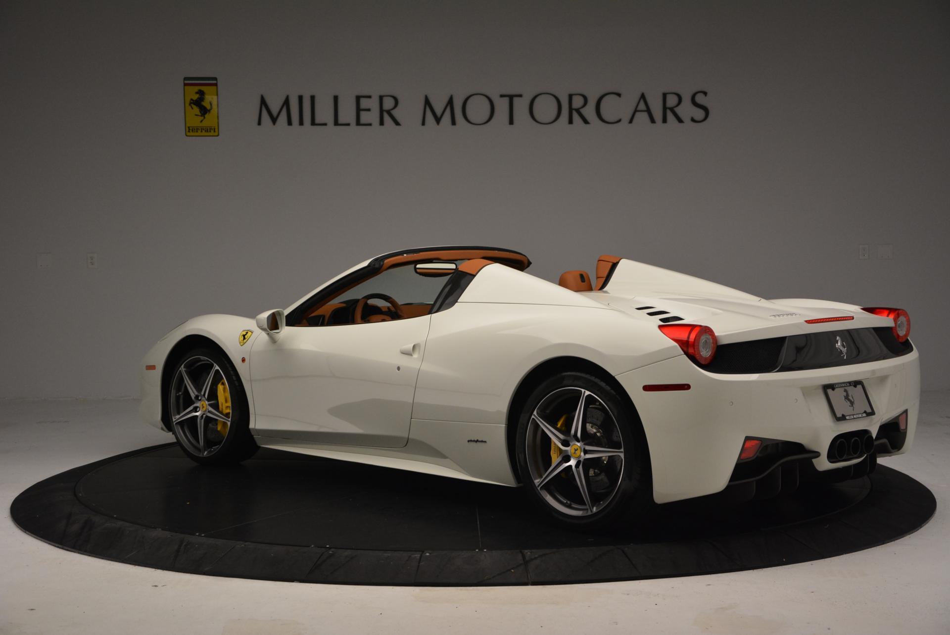 Used 2012 Ferrari 458 Spider  For Sale In Greenwich, CT. Alfa Romeo of Greenwich, F1724A 133_p5