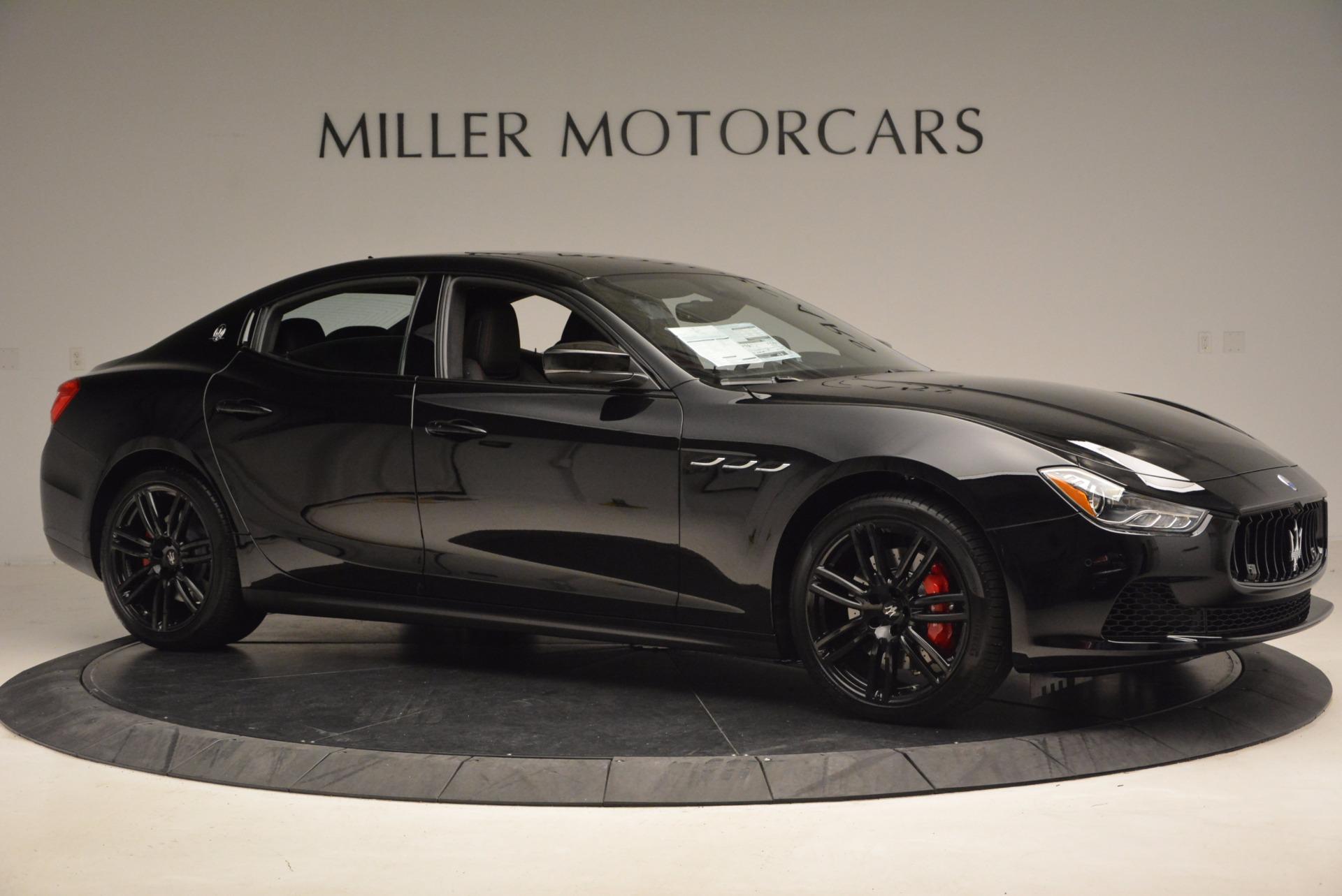 New 2017 Maserati Ghibli SQ4 S Q4 Nerissimo Edition For Sale In Greenwich, CT. Alfa Romeo of Greenwich, W472 1334_p10
