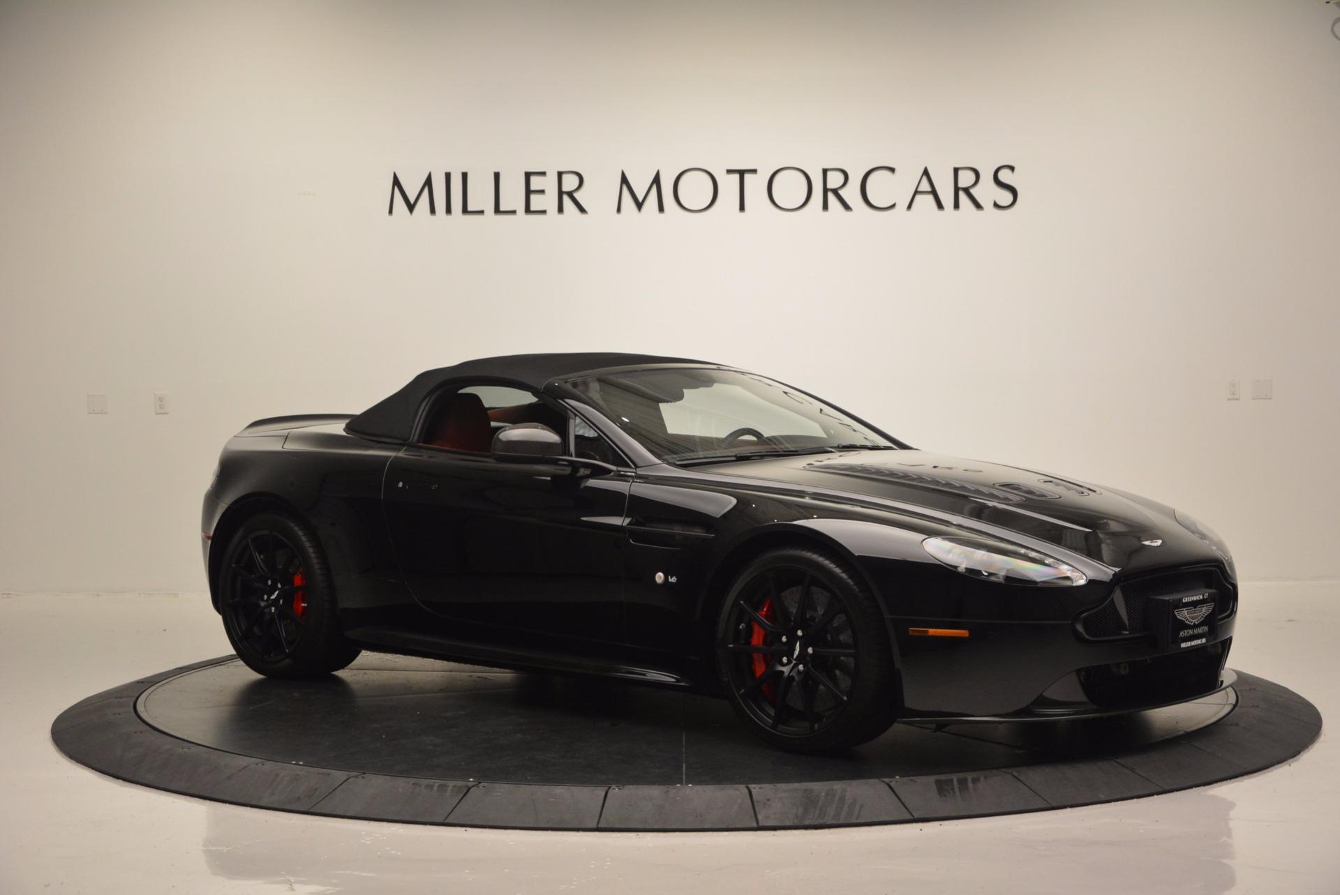 Used 2015 Aston Martin V12 Vantage S Roadster For Sale In Greenwich, CT. Alfa Romeo of Greenwich, 7227 1335_p16