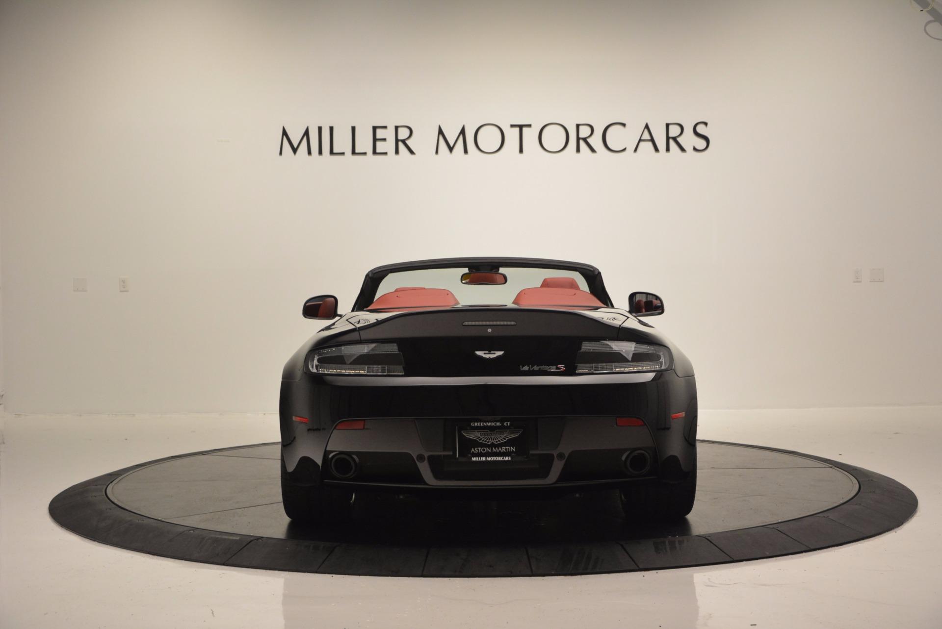 Used 2015 Aston Martin V12 Vantage S Roadster For Sale In Greenwich, CT. Alfa Romeo of Greenwich, 7227 1335_p6