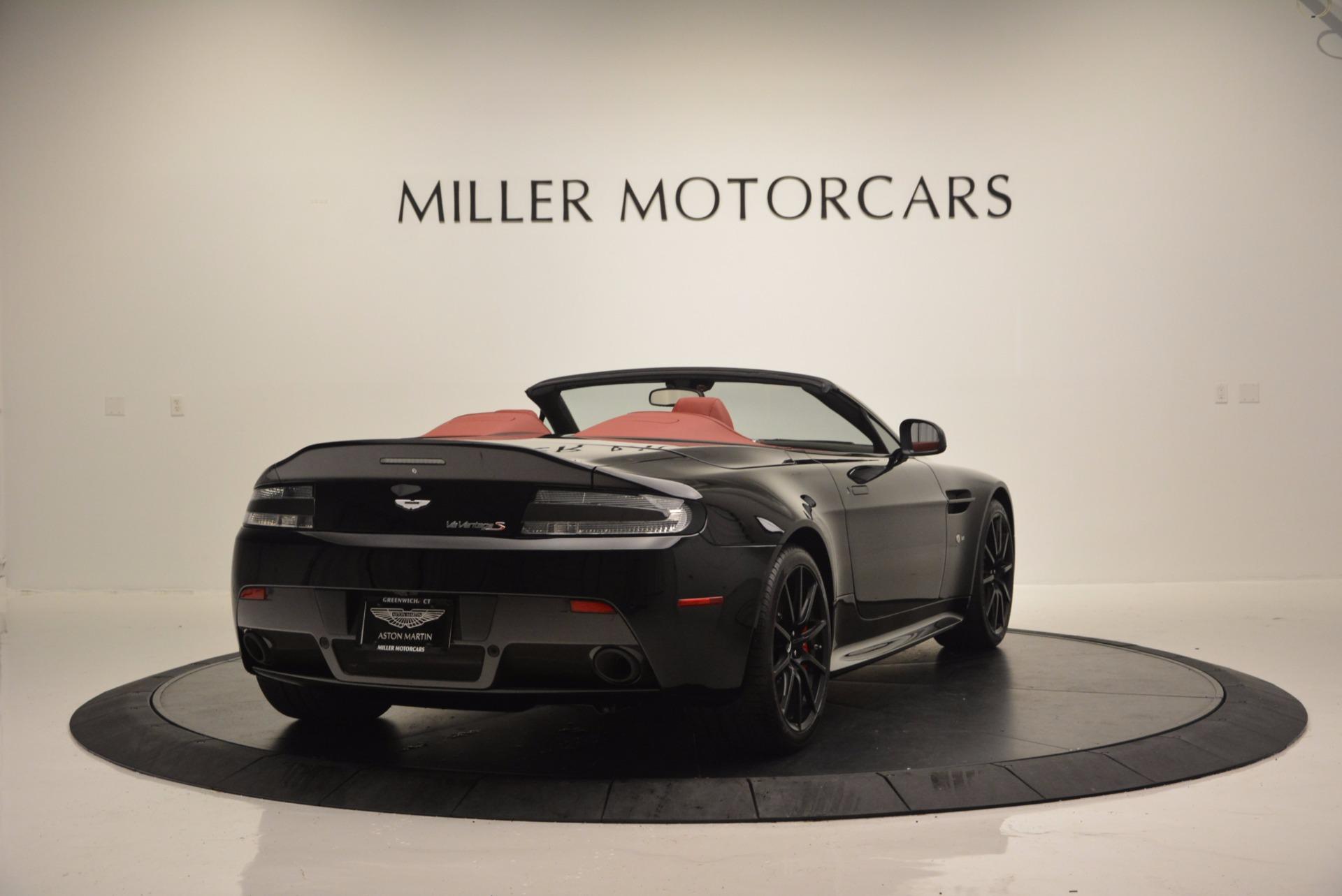 Used 2015 Aston Martin V12 Vantage S Roadster For Sale In Greenwich, CT. Alfa Romeo of Greenwich, 7227 1335_p7