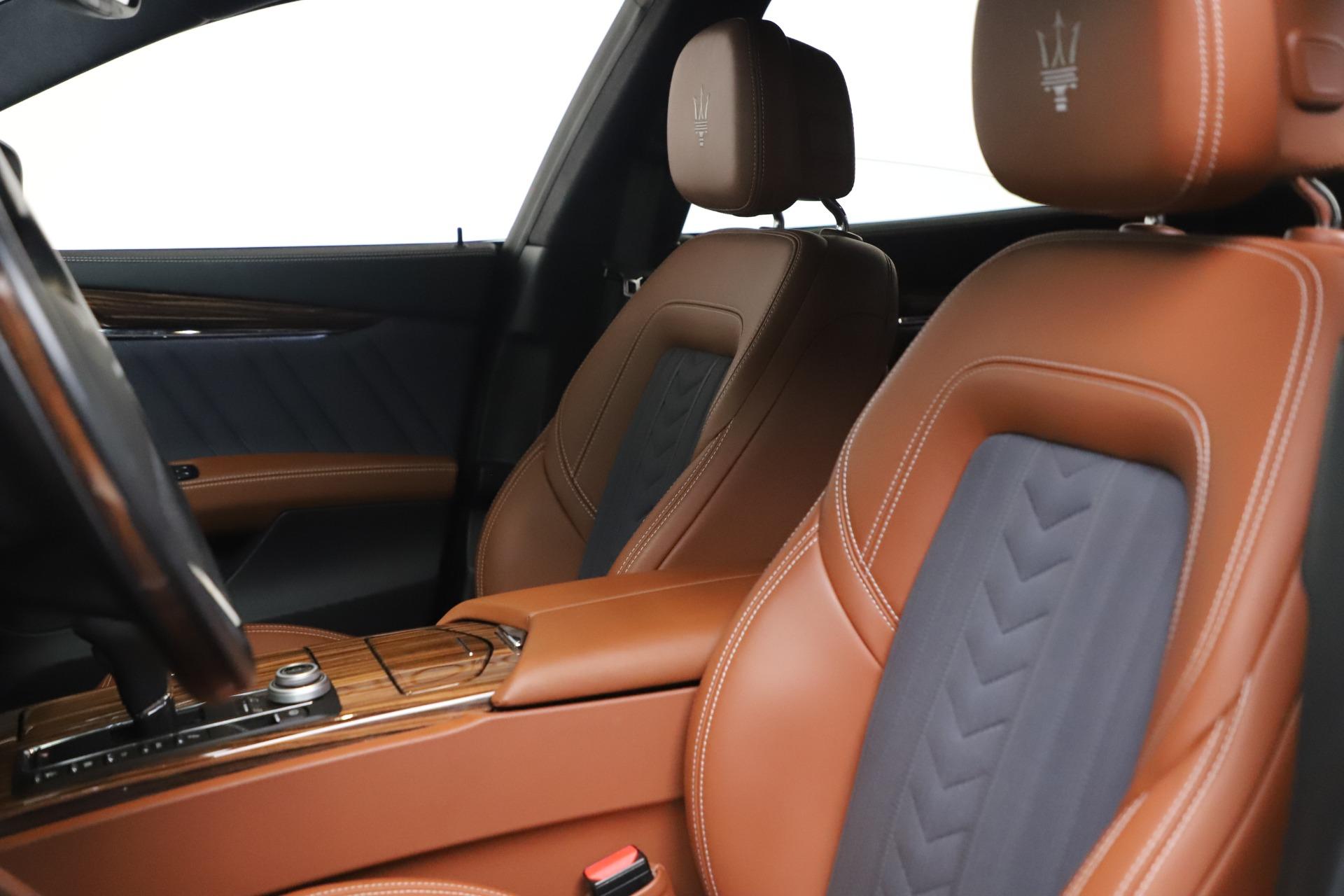 New 2017 Maserati Quattroporte SQ4 GranLusso/ Zegna For Sale In Greenwich, CT. Alfa Romeo of Greenwich, M1890 1355_p15
