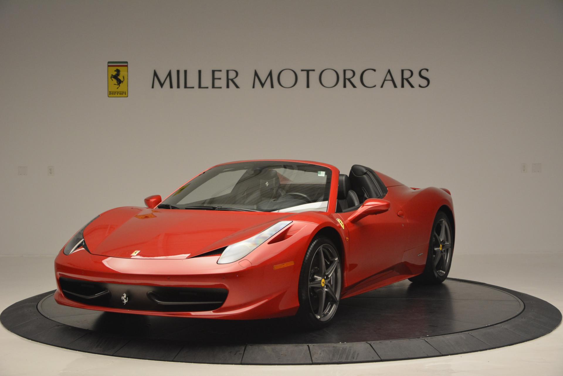Used 2013 Ferrari 458 Spider  For Sale In Greenwich, CT. Alfa Romeo of Greenwich, 4322 136_main