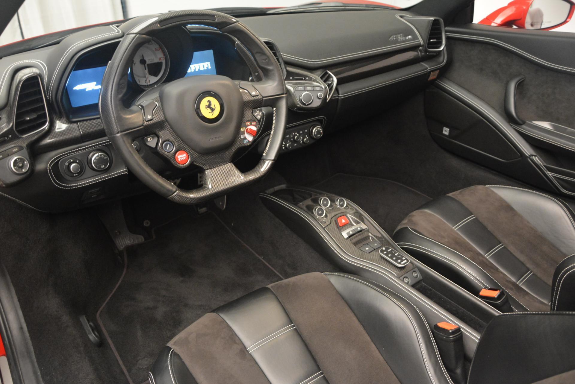Used 2013 Ferrari 458 Spider  For Sale In Greenwich, CT. Alfa Romeo of Greenwich, 4322 136_p25