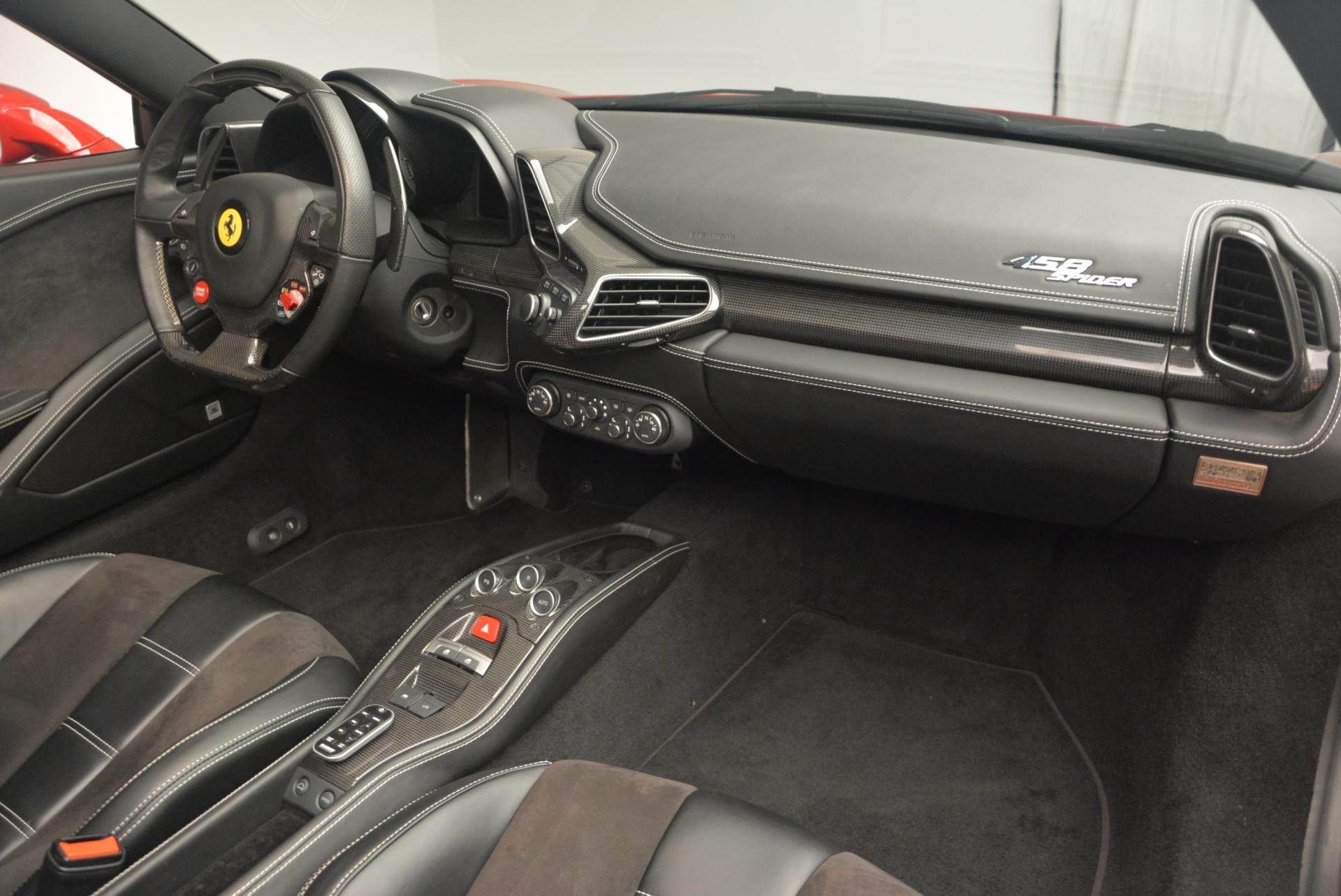 Used 2013 Ferrari 458 Spider  For Sale In Greenwich, CT. Alfa Romeo of Greenwich, 4322 136_p29